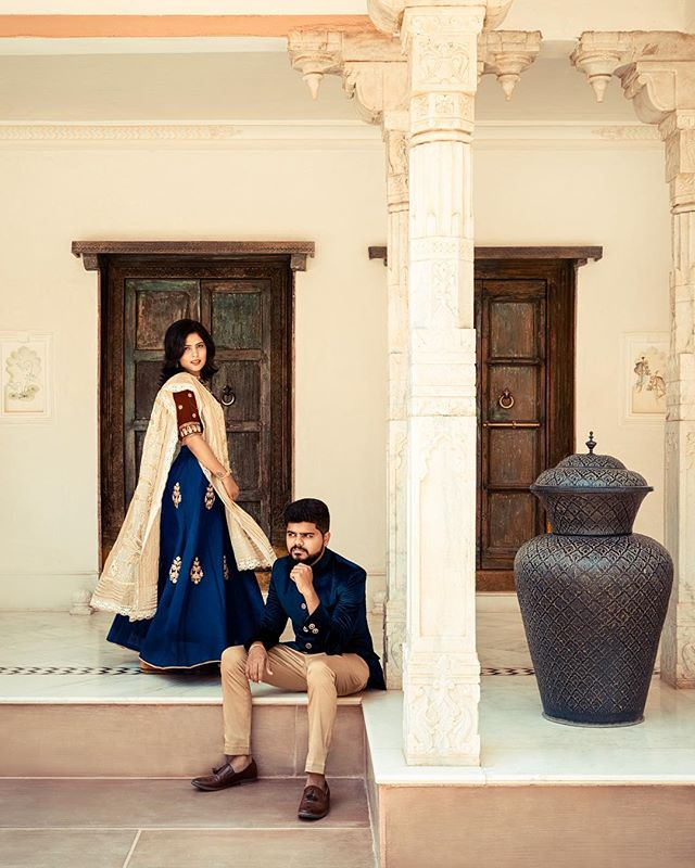 2017 has brought out some of the best photography from me. This #portrait of my sister and brother in law definitely took a hundred takes before getting the right shot. We were so thrilled to get the opportunity to shoot at one of the most stunning locations in Udaipur, India.  @fatehgarh @udaipurcity @India  @nikonusa @elinchrom_ltd @aashna_b_thaker @thakerbhrugu @desaidhrumil #nikon #nikond810 #elinchrom #sandisk #portraitphotography #fashion #photography #india #travel #rajasthan #udaipur
