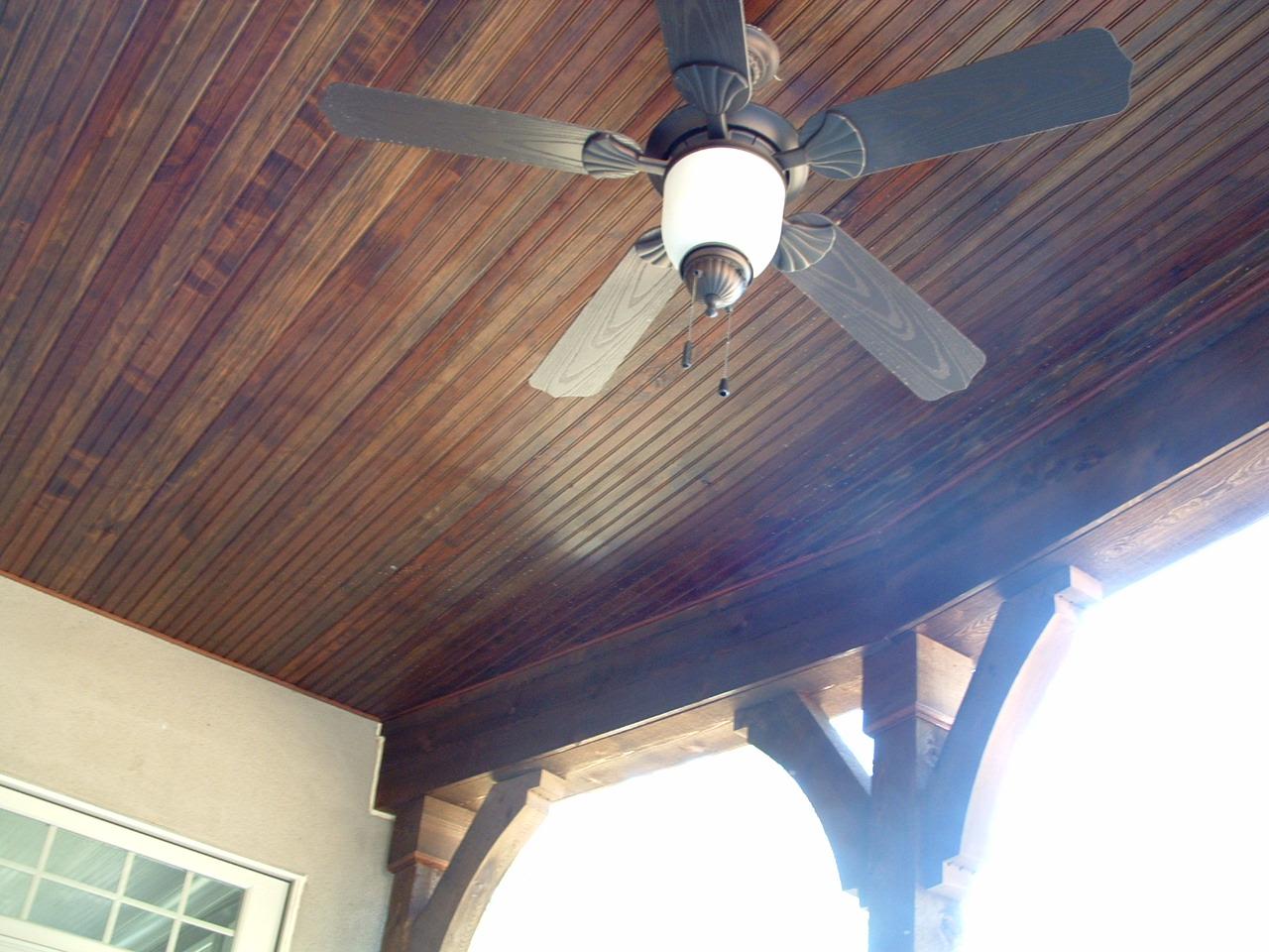 Exterior Deck Ceiling