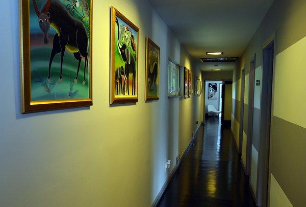 Corridor to Master Bedroom Addition