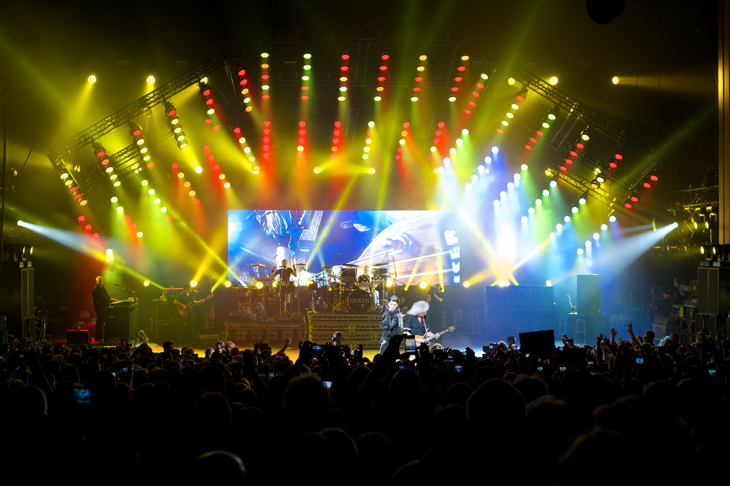 Queen + Adam Lambert, Hammersmith 2012