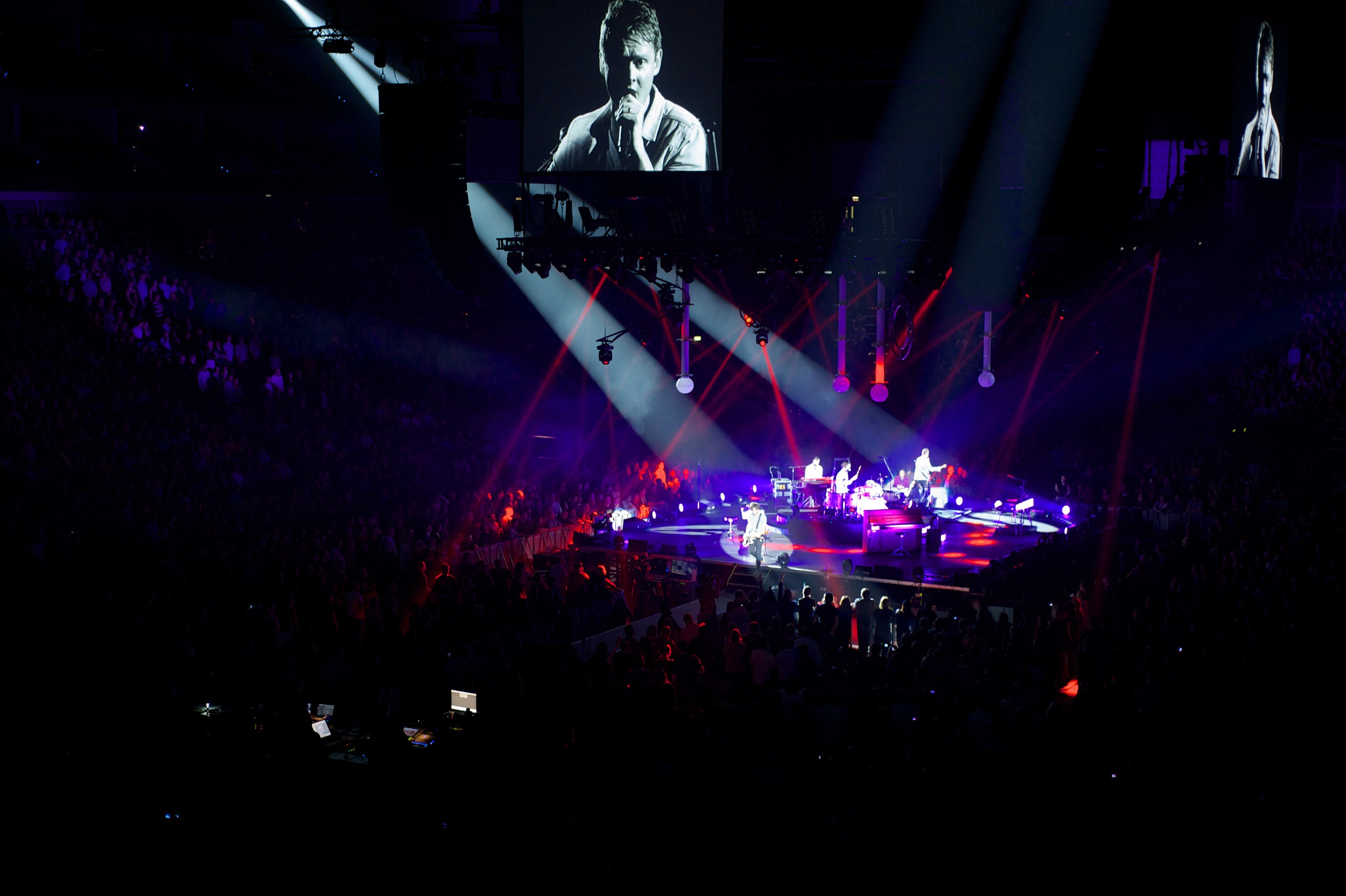 Keane, London O2, 2012