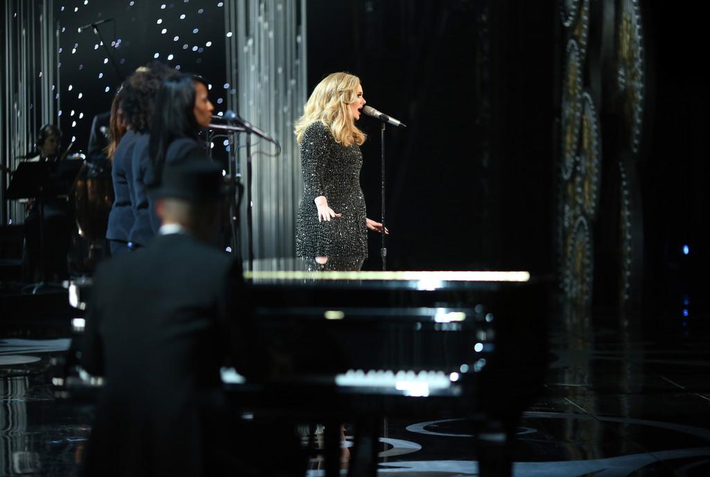 Adele, 85th Academy Awards, 2013