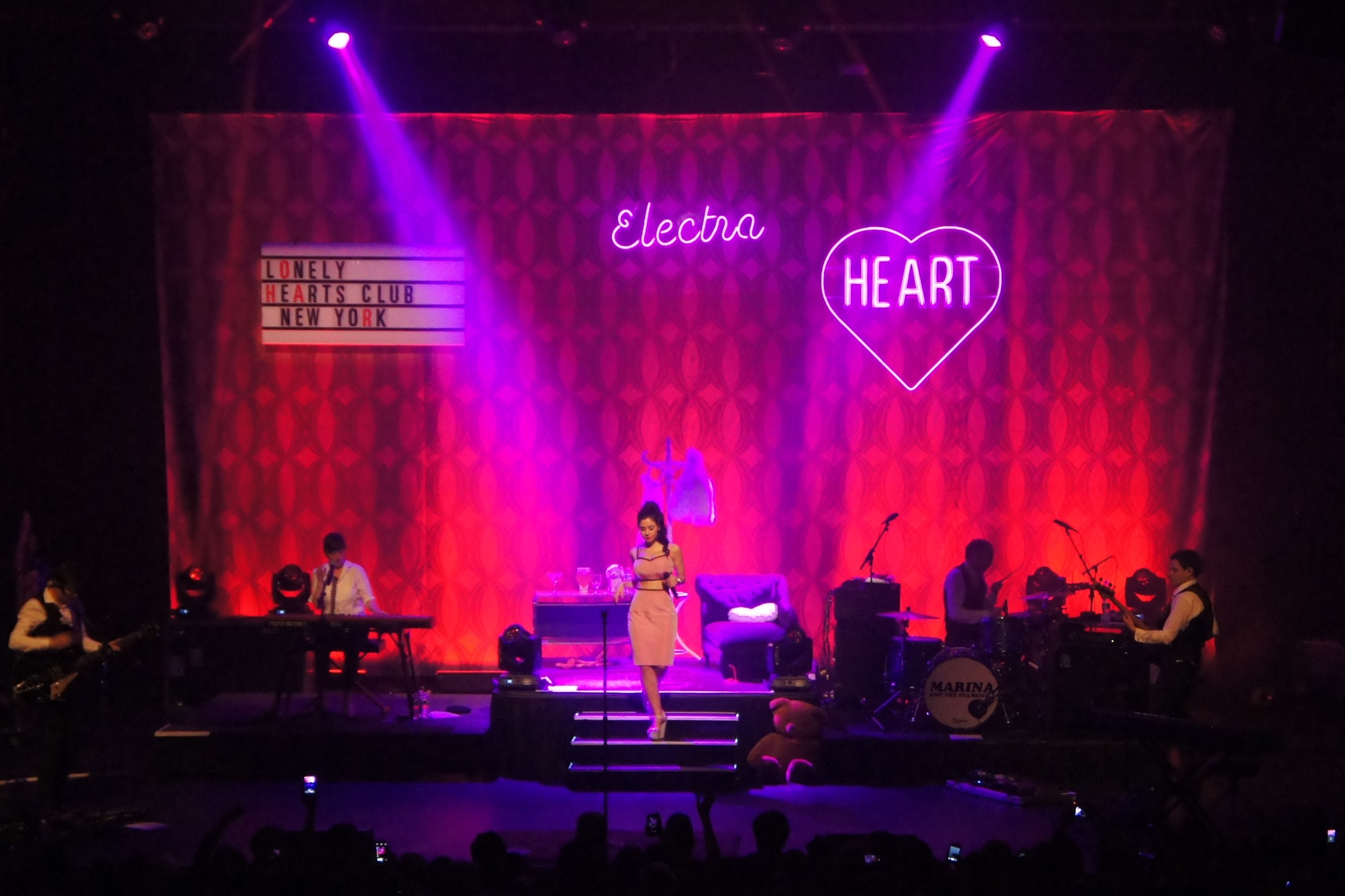 Marina and the Diamonds, New York City, 2012