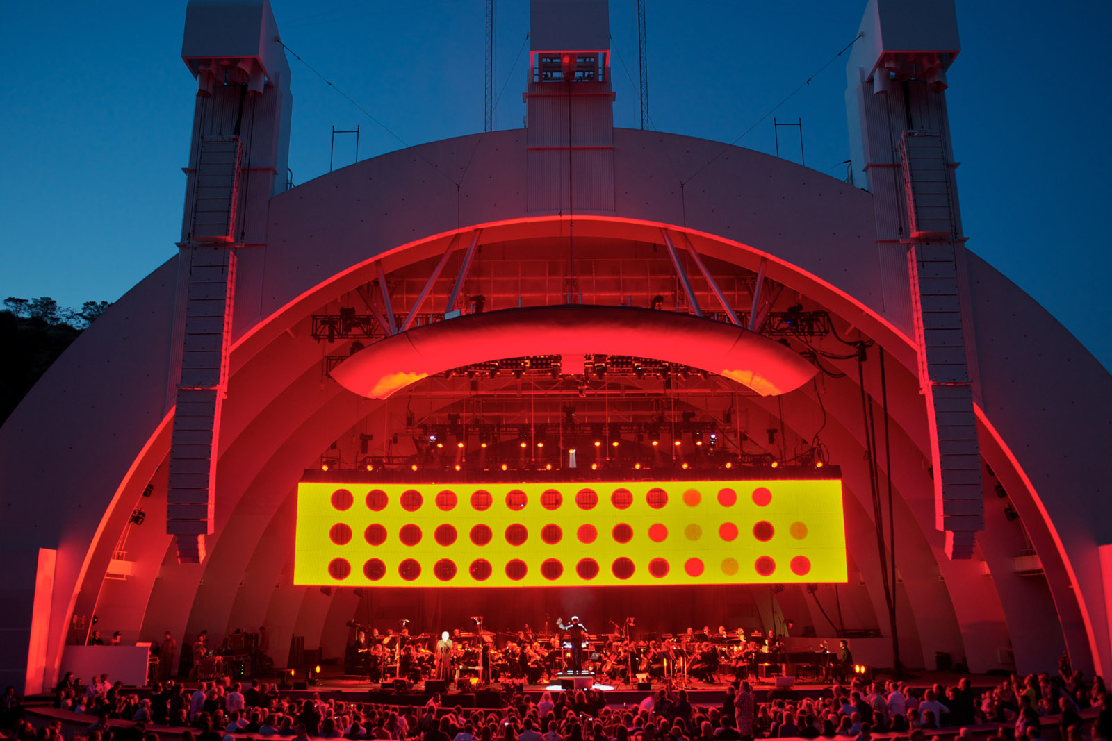 Peter Gabriel, The Hollywood Bowl, 2010