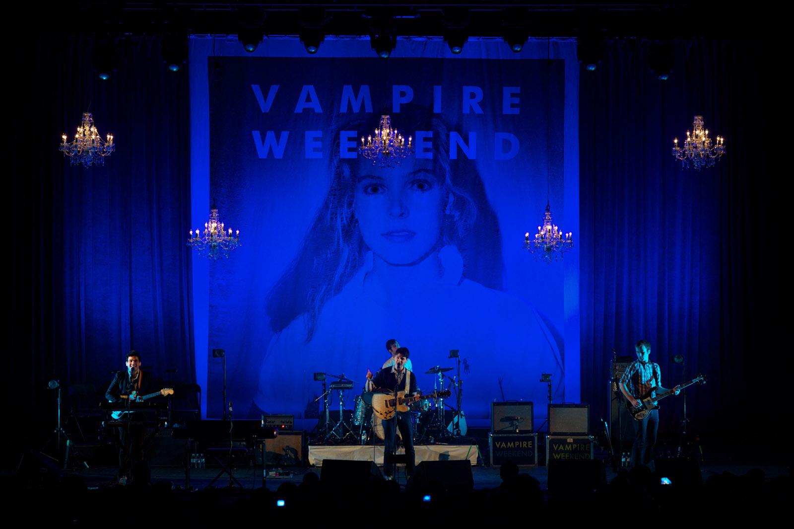Vampire Weekend, London, 2010