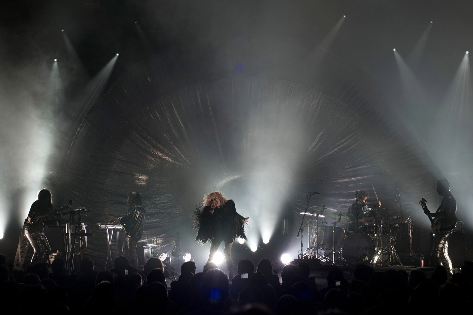 Goldfrapp, Norwich, 2010