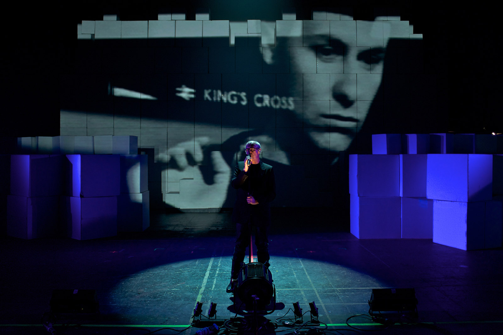 Pet Shop Boys Rehearsals, Elstree, 2010