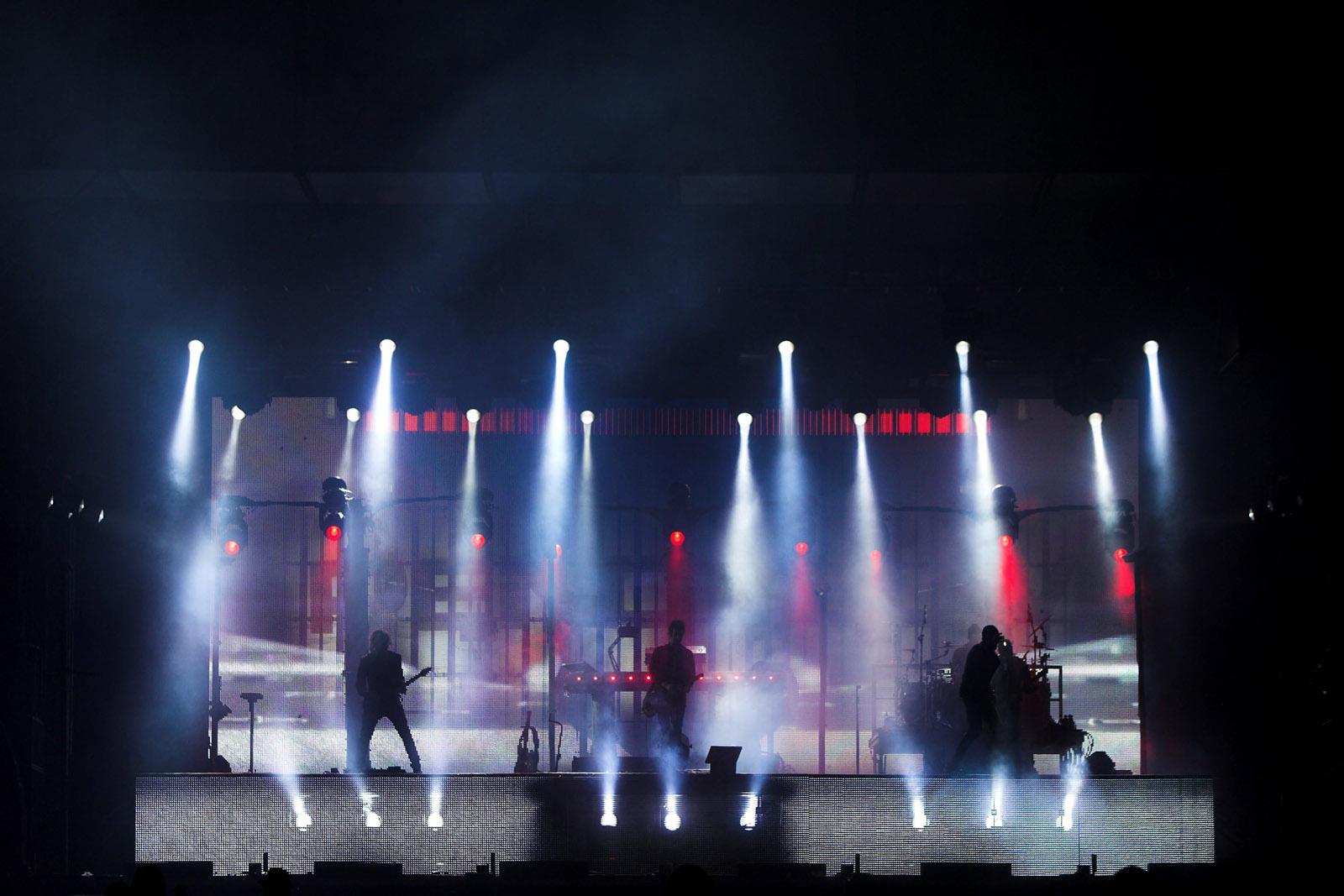 Pendulum Rehearsals, Elstree, 2011