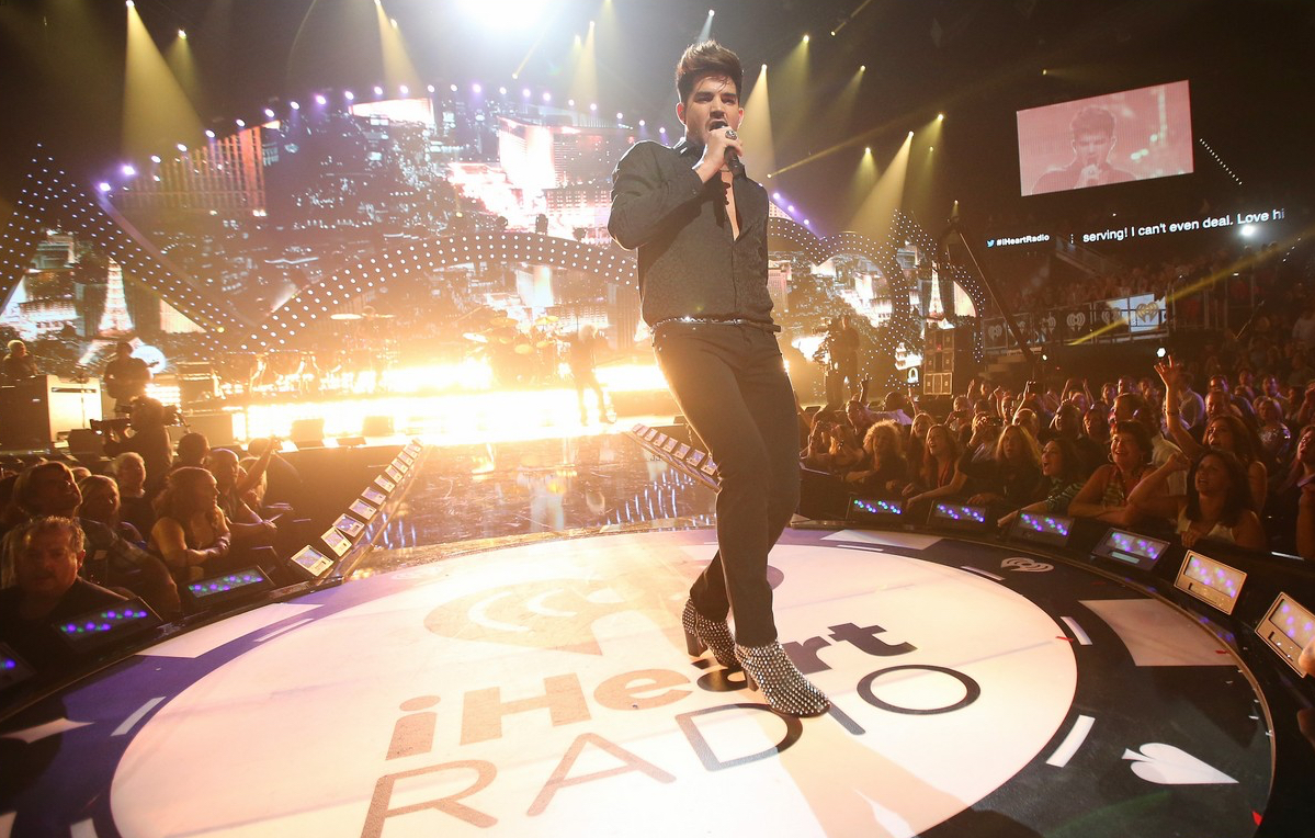 Queen + Adam Lambert, iHeart Music Festival, 2013