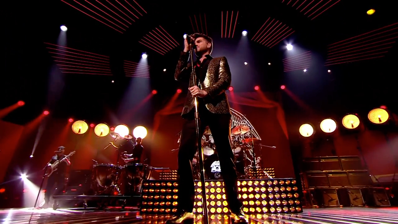 Queen + Adam Lambert, X Factor, 2014