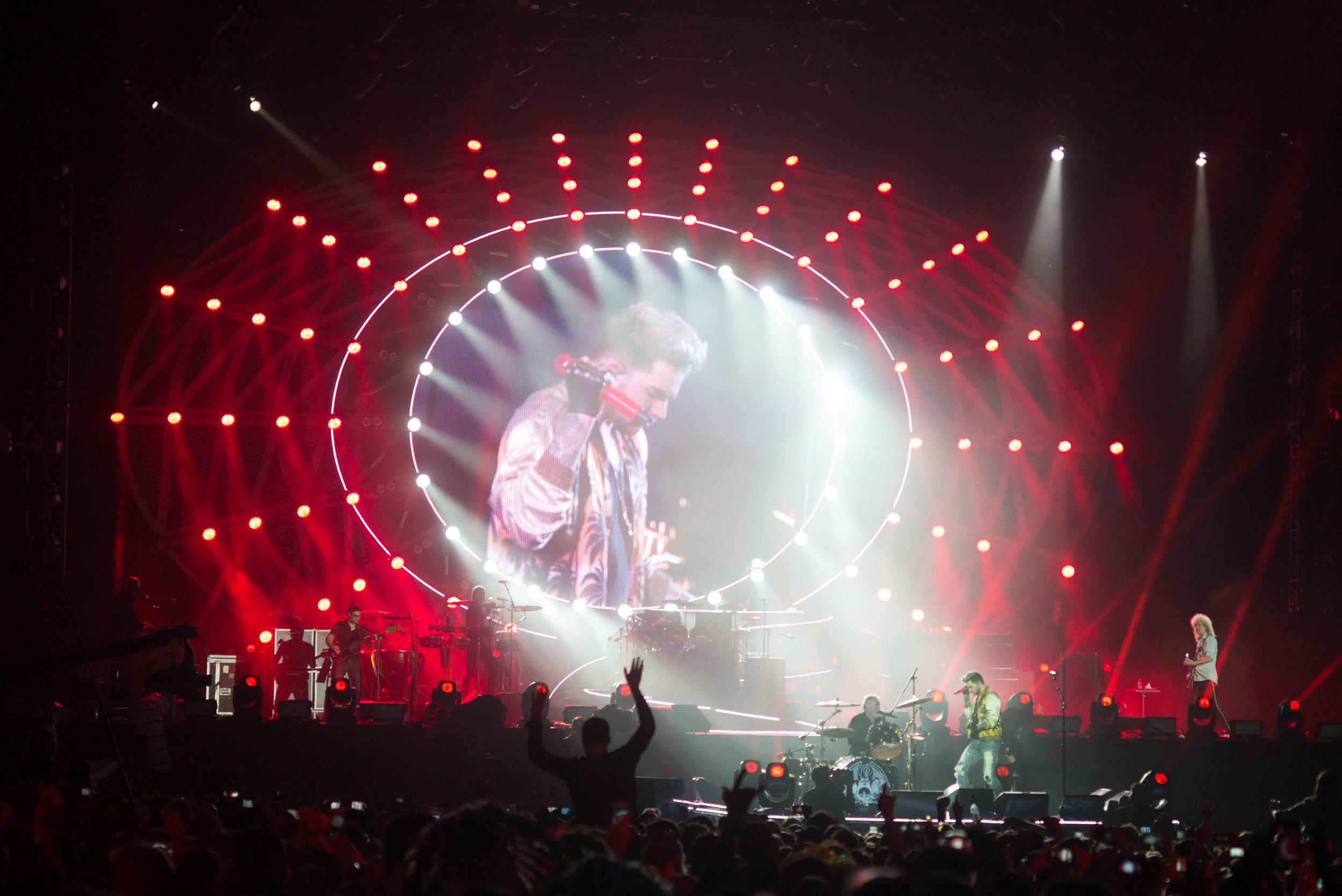 Queen + Adam Lambert, Isle of Wight, 2016