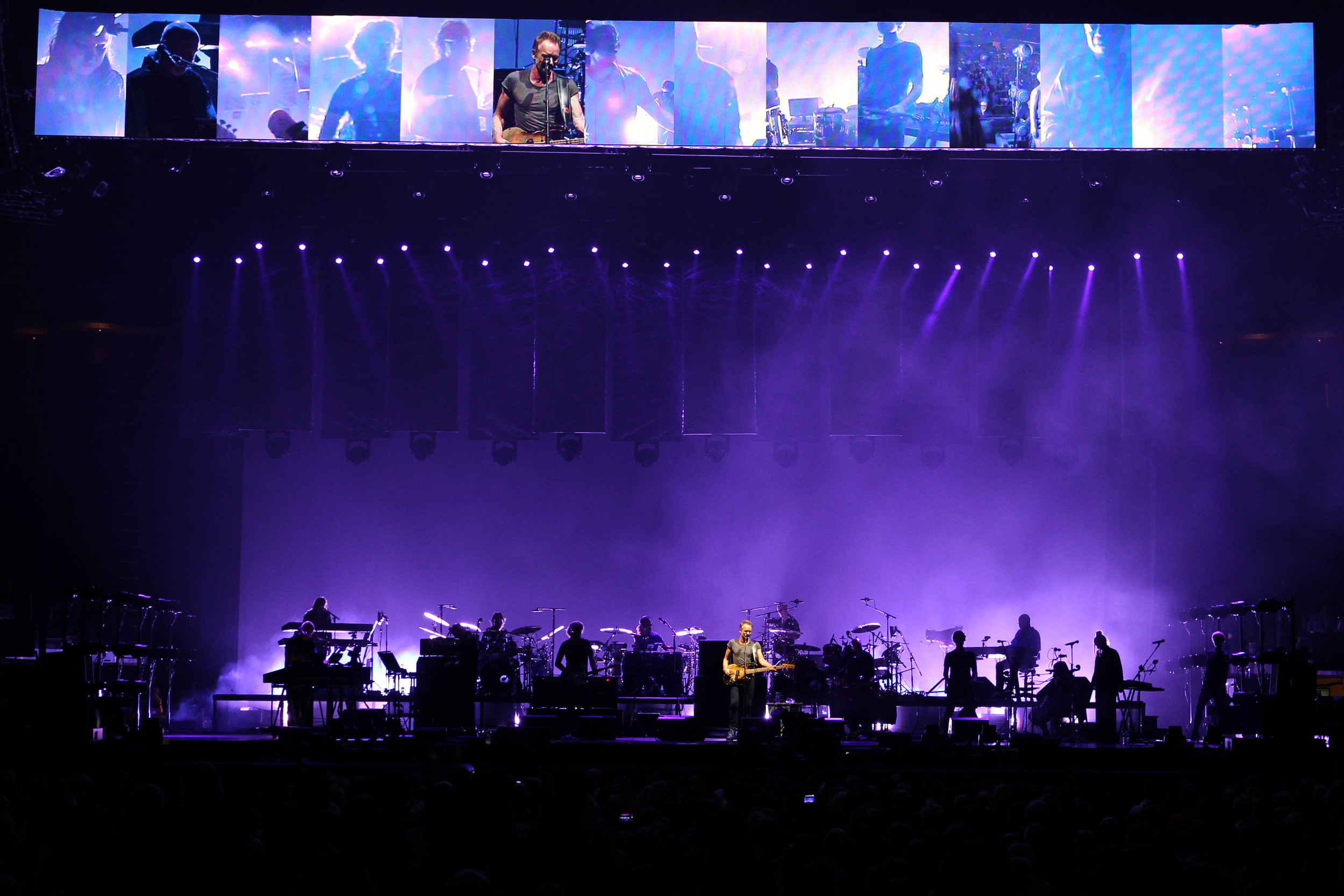 Sting and Peter Gabriel, Rock : Paper : Scissors, Madison Square Garden, 2016