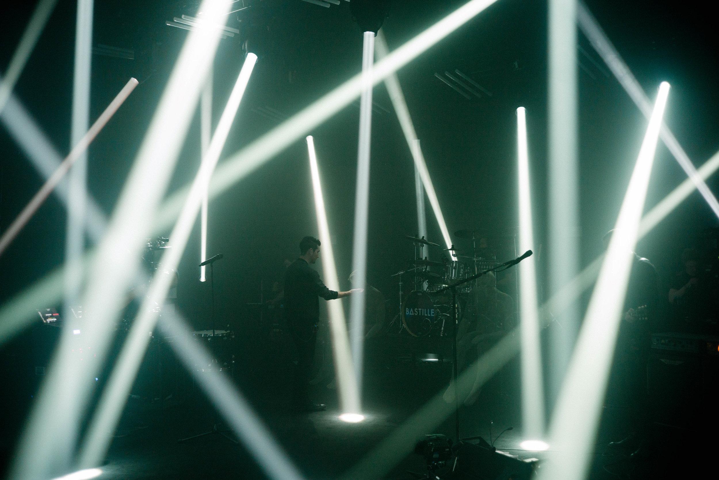 Bastille, Vevo shoot, London 2016