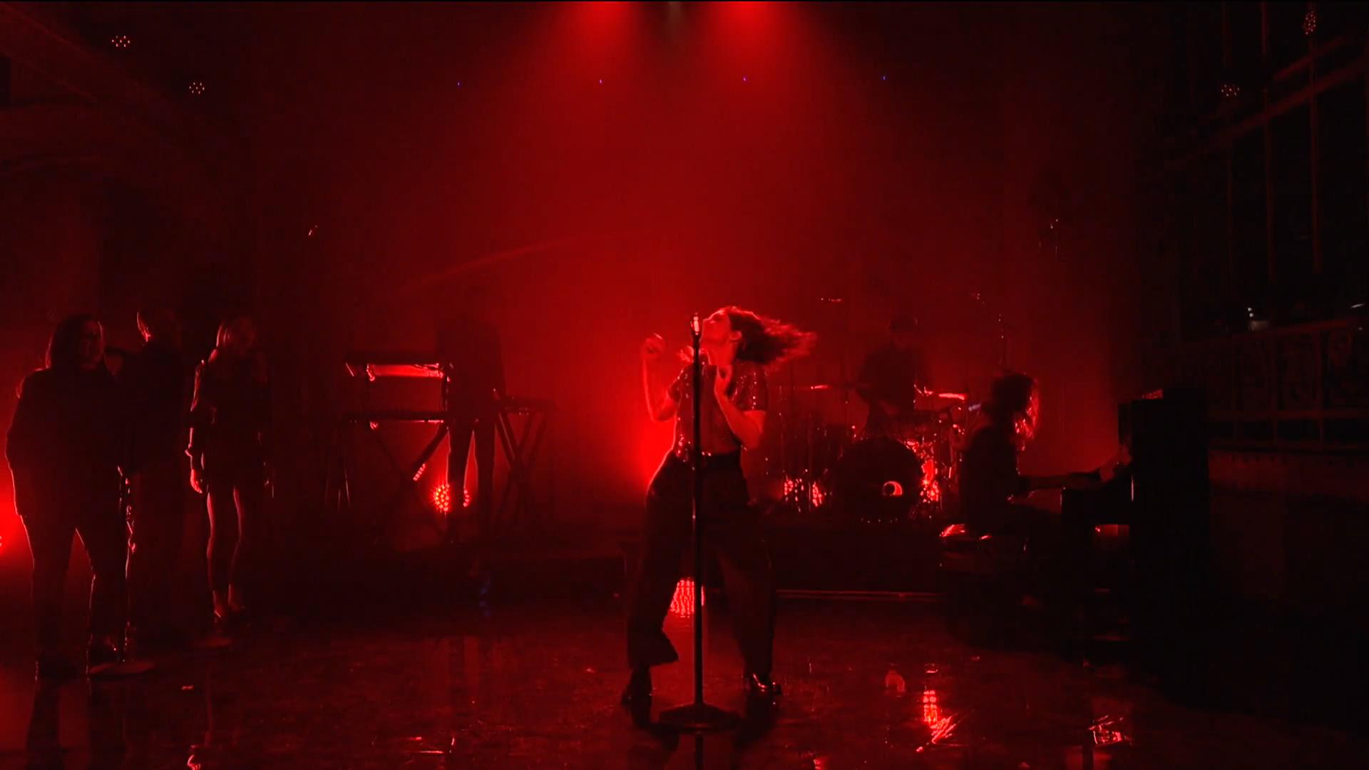 Lorde, SNL, 2017