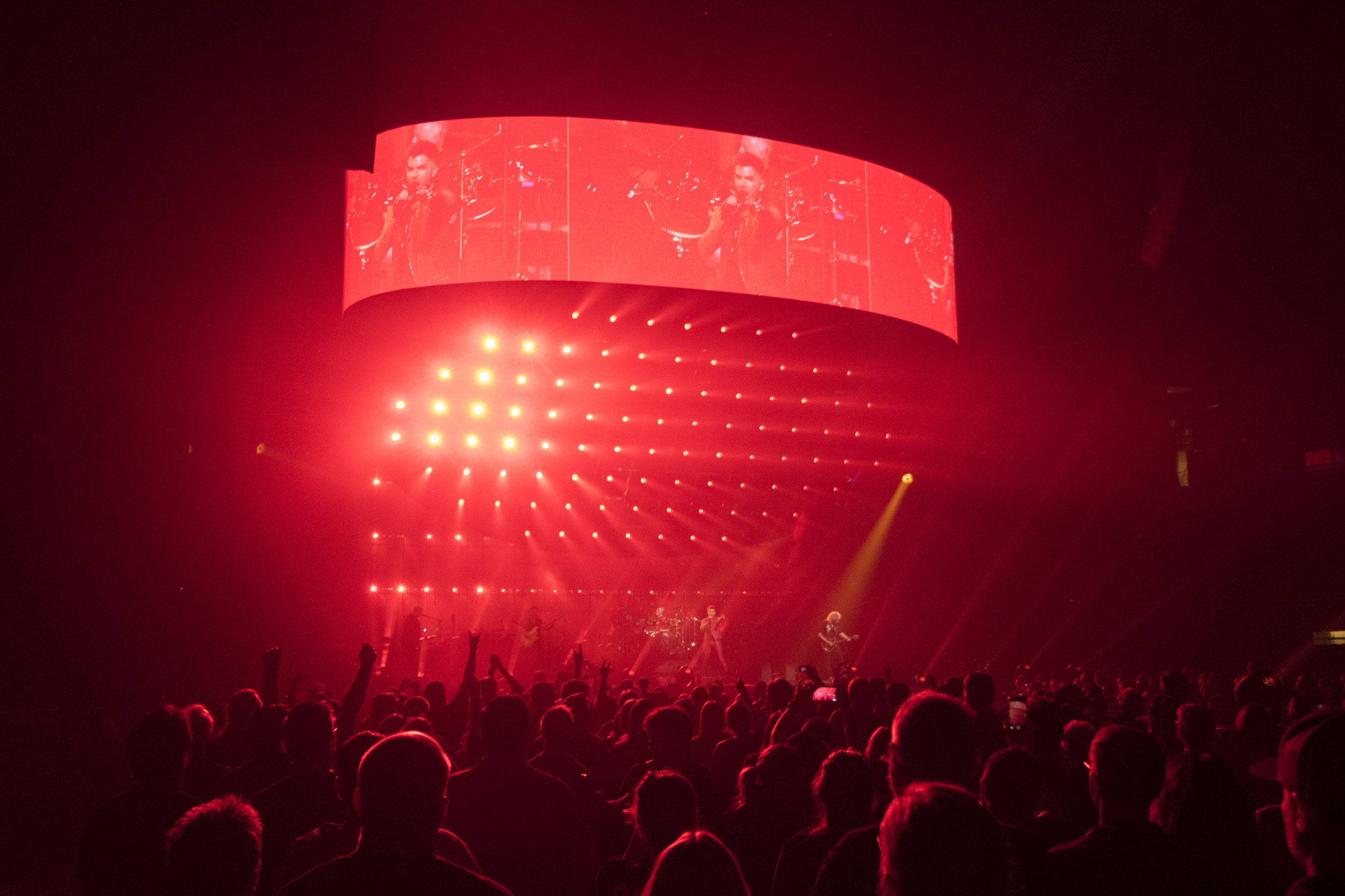 Queen + Adam Lambert, Las Vegas, 2017