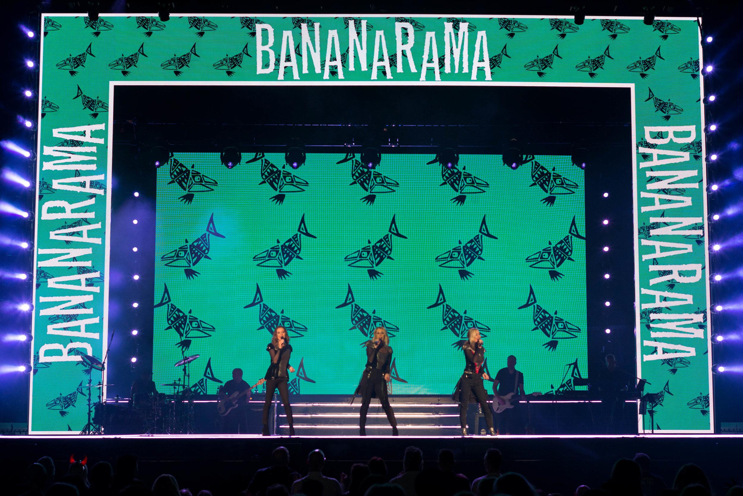 Bananarama, Belfast, 2017