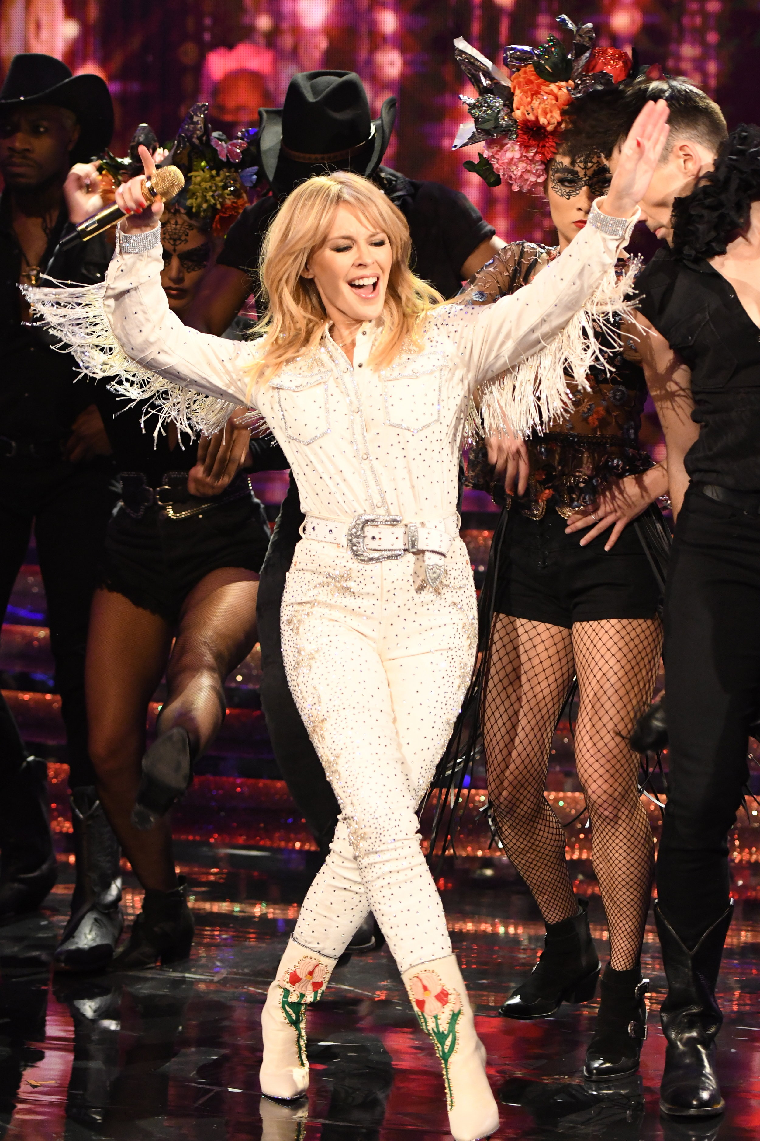 Kylie Minogue, Saturday Night Takeaway, 2018
