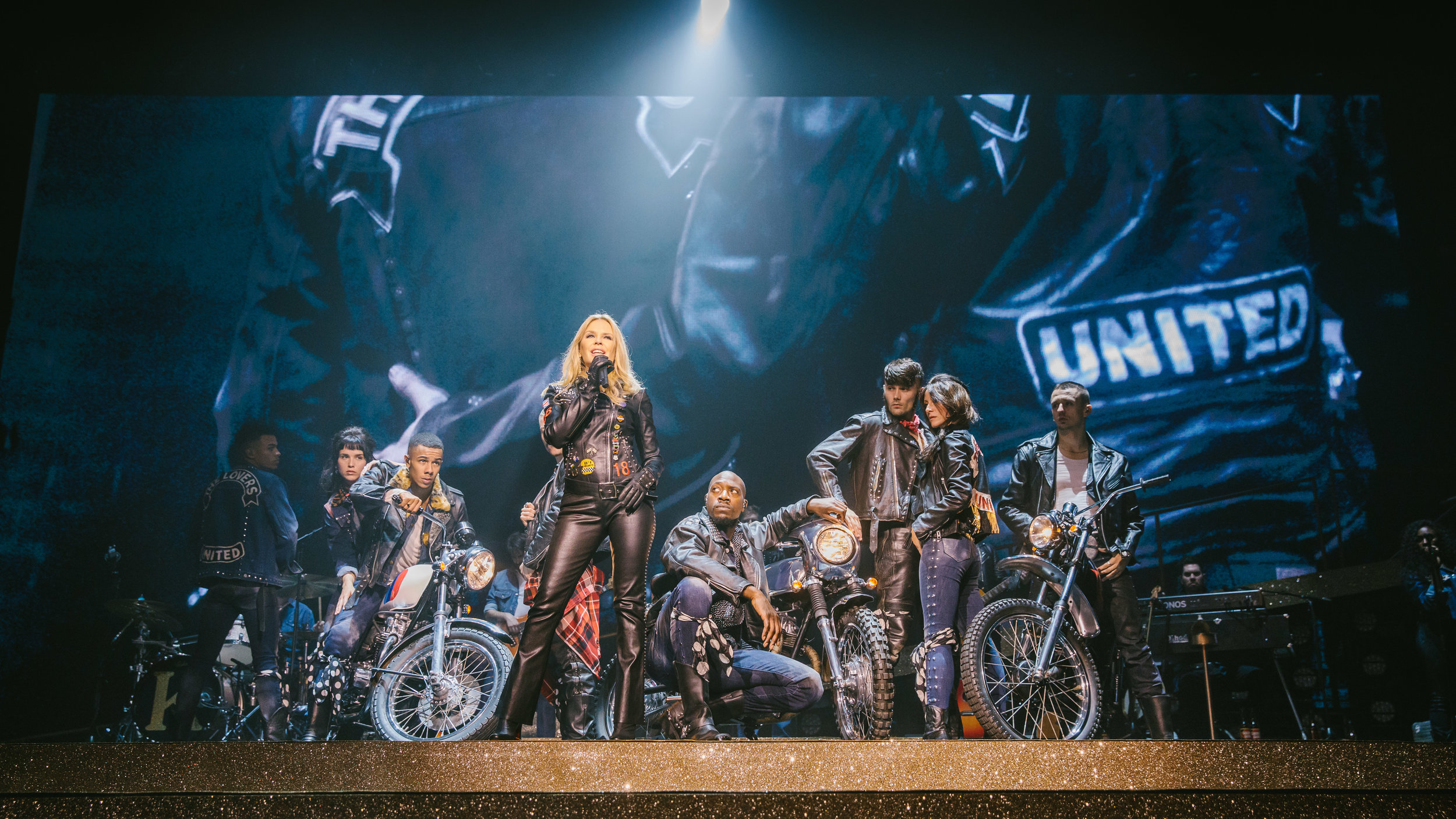 Kylie Minogue in Golden, Newcastle 2018