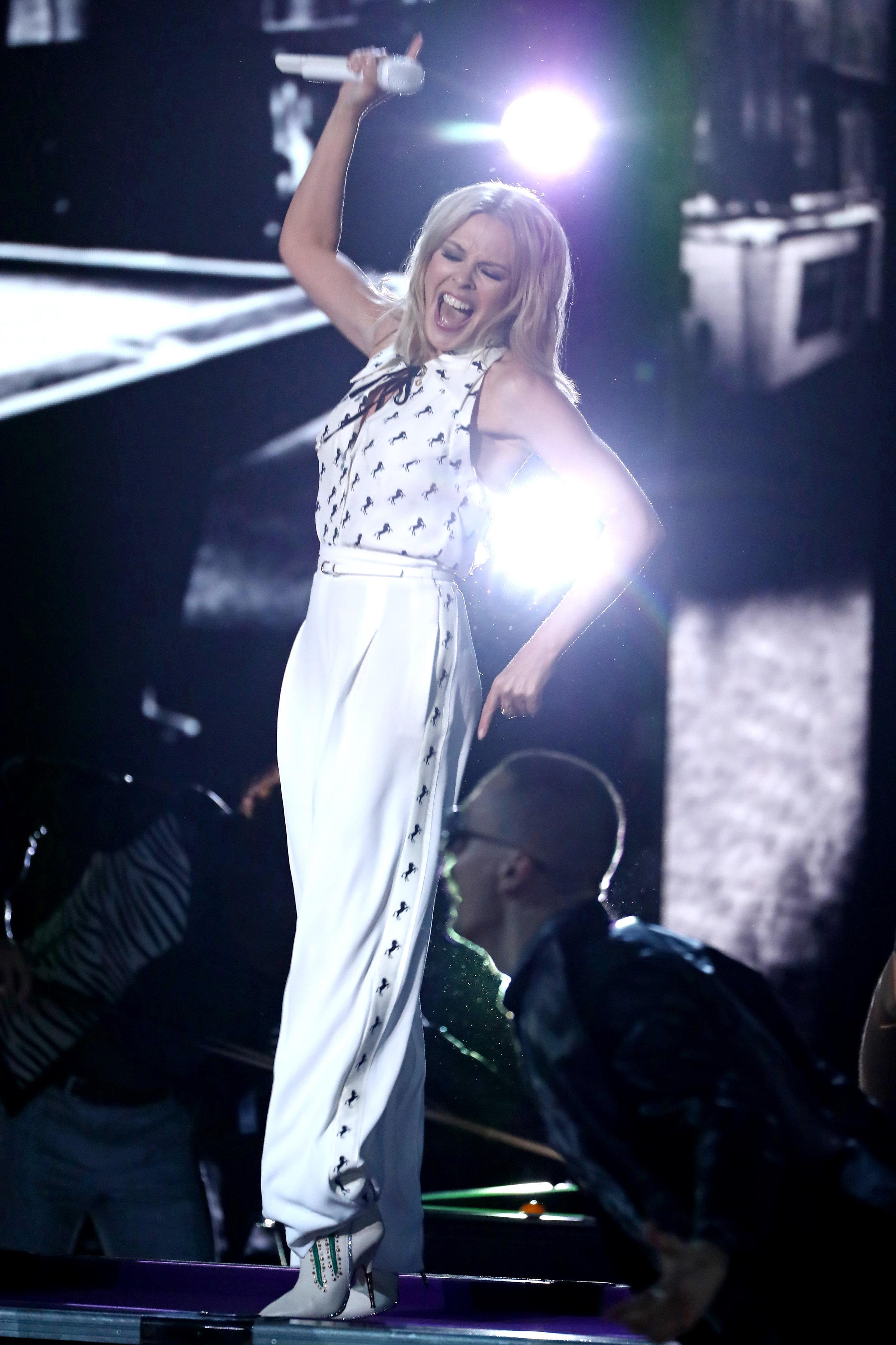 Kylie Minogue, X Factor, 2018