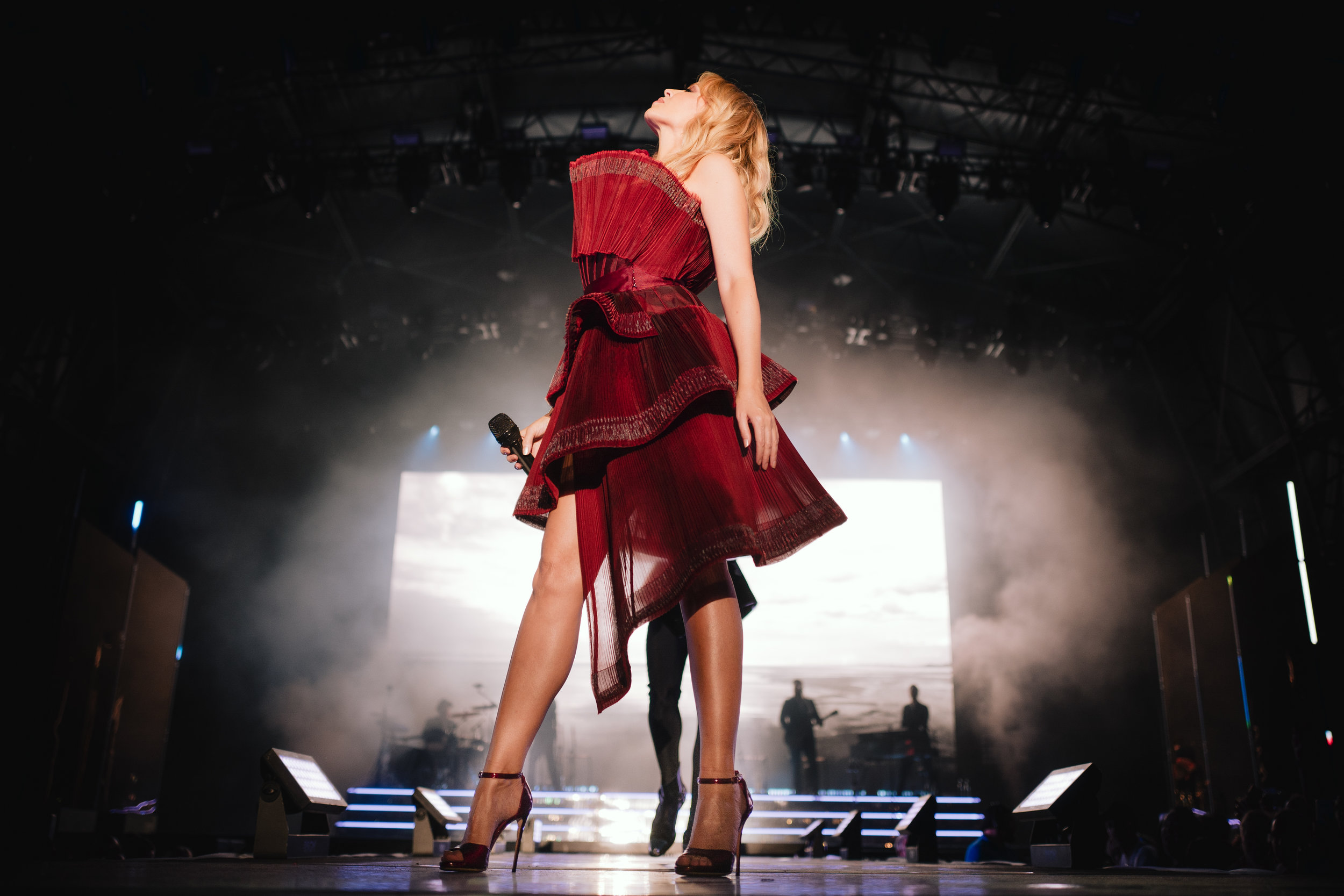 Kylie Minogue at Brighton Pride, 2019