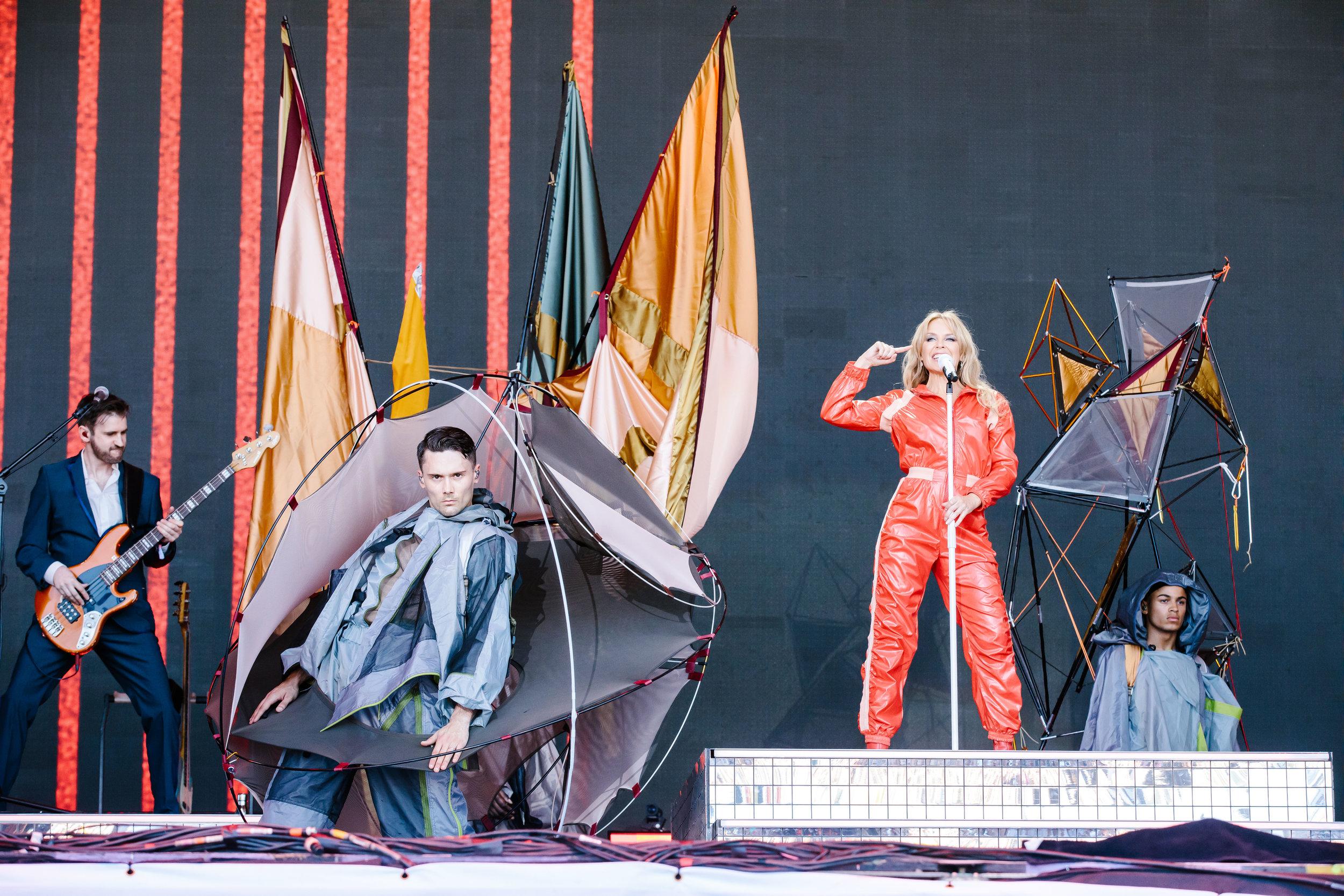 Kylie Minogue, Glastonbury, 2019