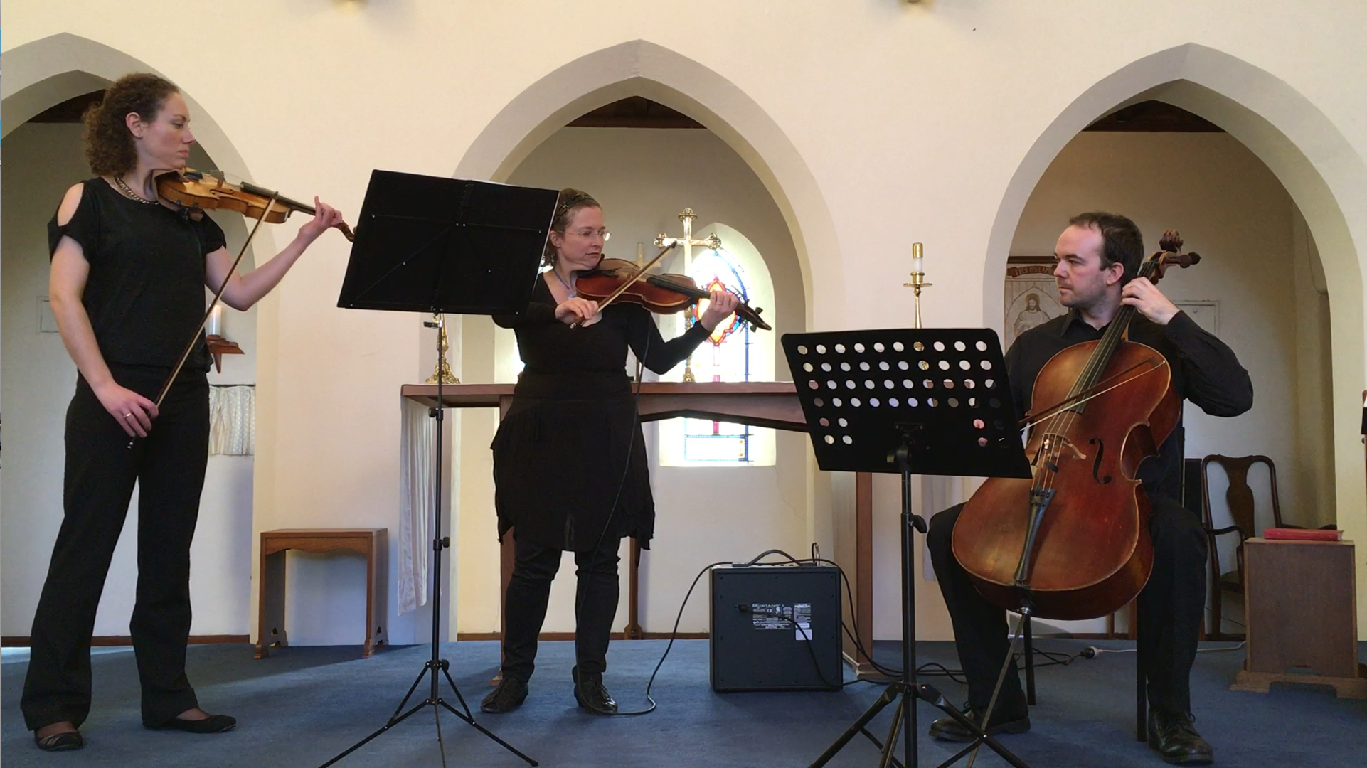"""From the 2016 concert: """"An Afternoon at St Linus - Winter Edition"""""""