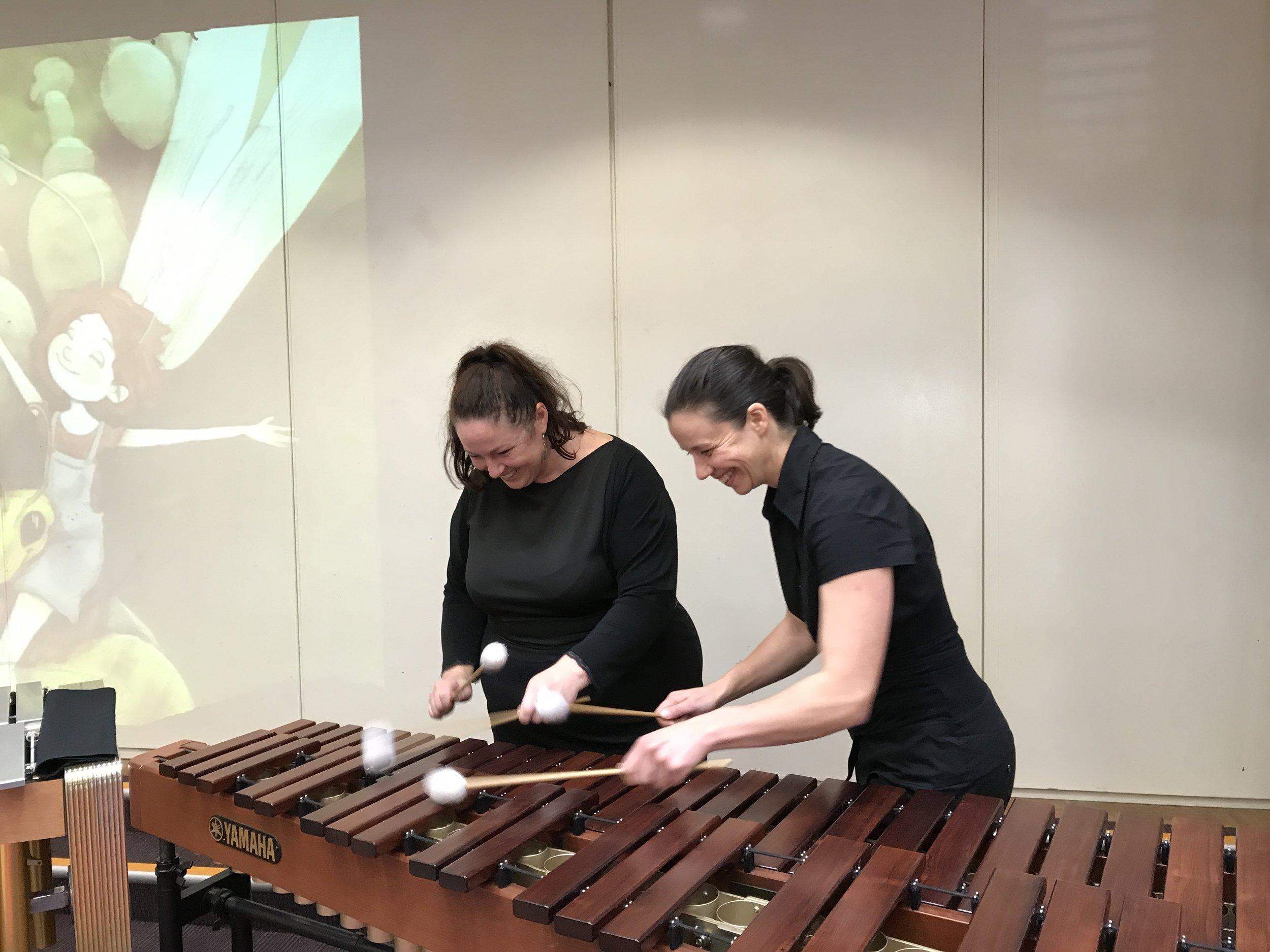 Amy Arwen with Marimba.JPG