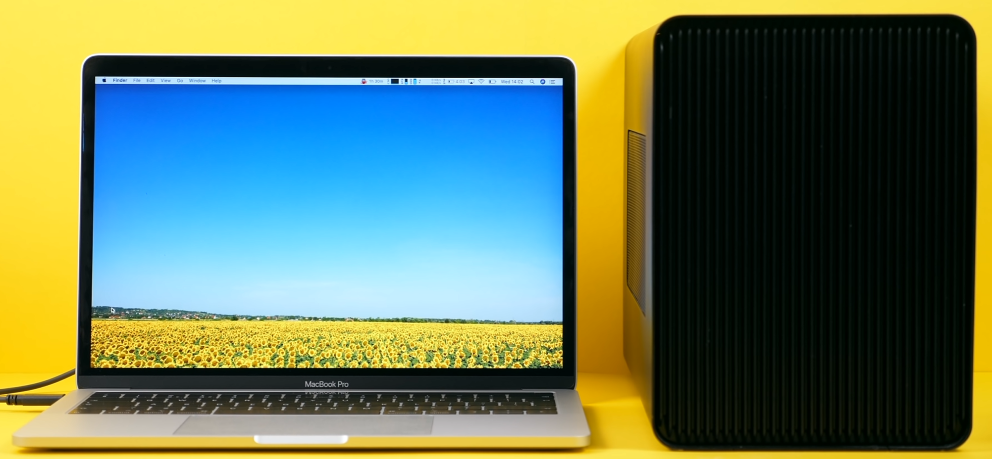 By adding an eGPU to your set up you will get a significant improvement in the performance of your MacBook