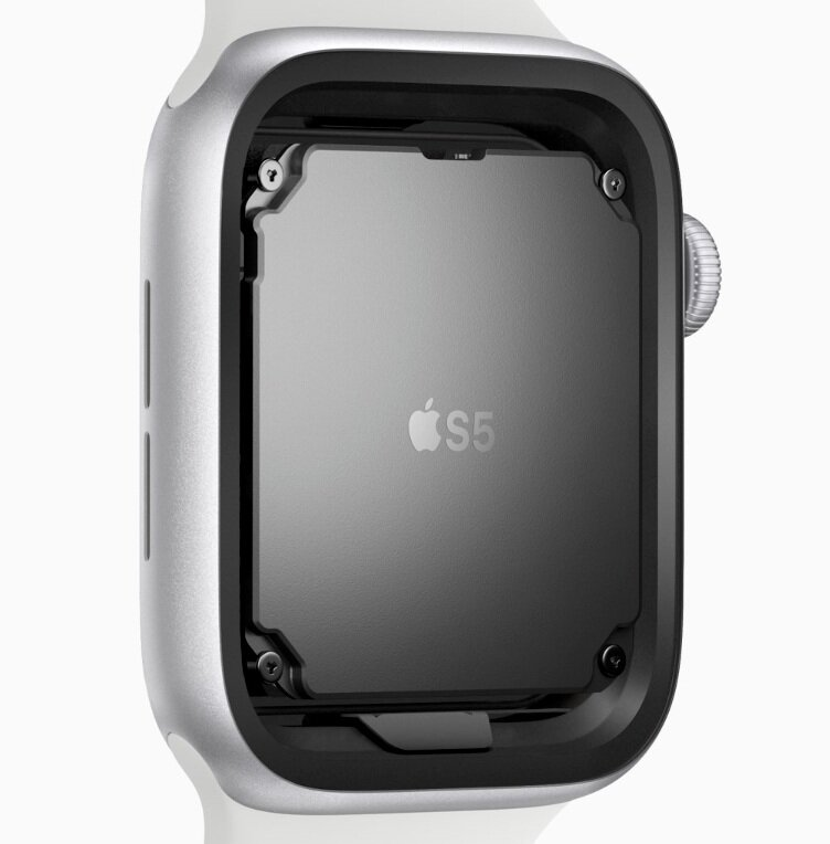 The powerhouse of the Series 5, the S5 chip, is almost identical to the S4 chip in the previous model from 2 years ago (Source: Apple)