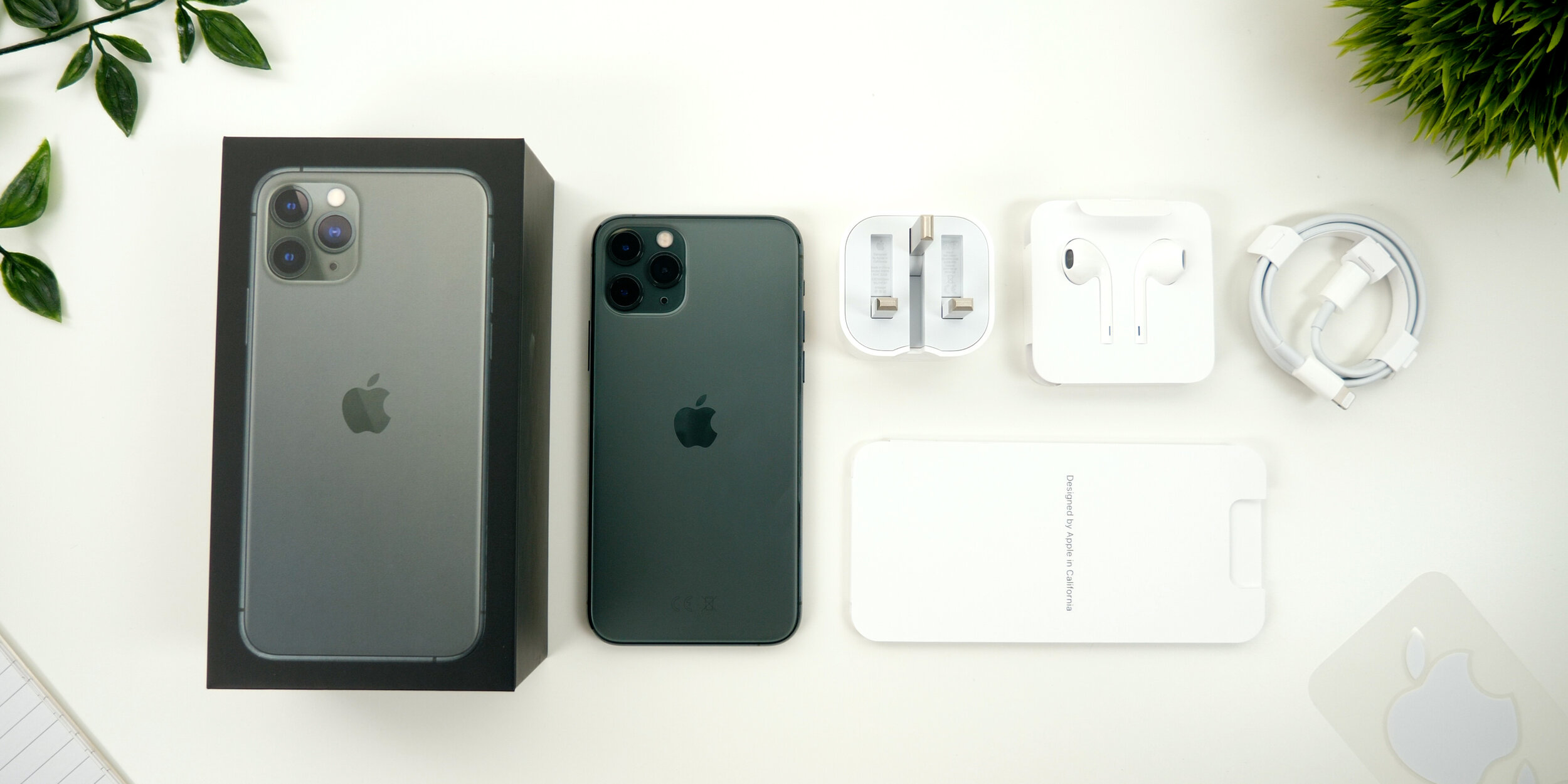 Everything you get inside of the iPhone 11 Pro Max box