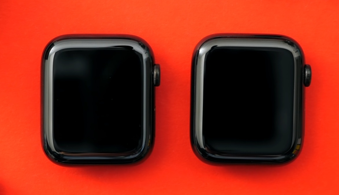 Design comparison between the Series 4 and Series 5