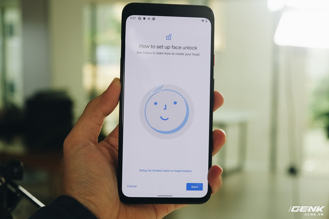 Leaks suggest that Face Unlock will be coming to the Pixel 4 (Source: Genk.vn)