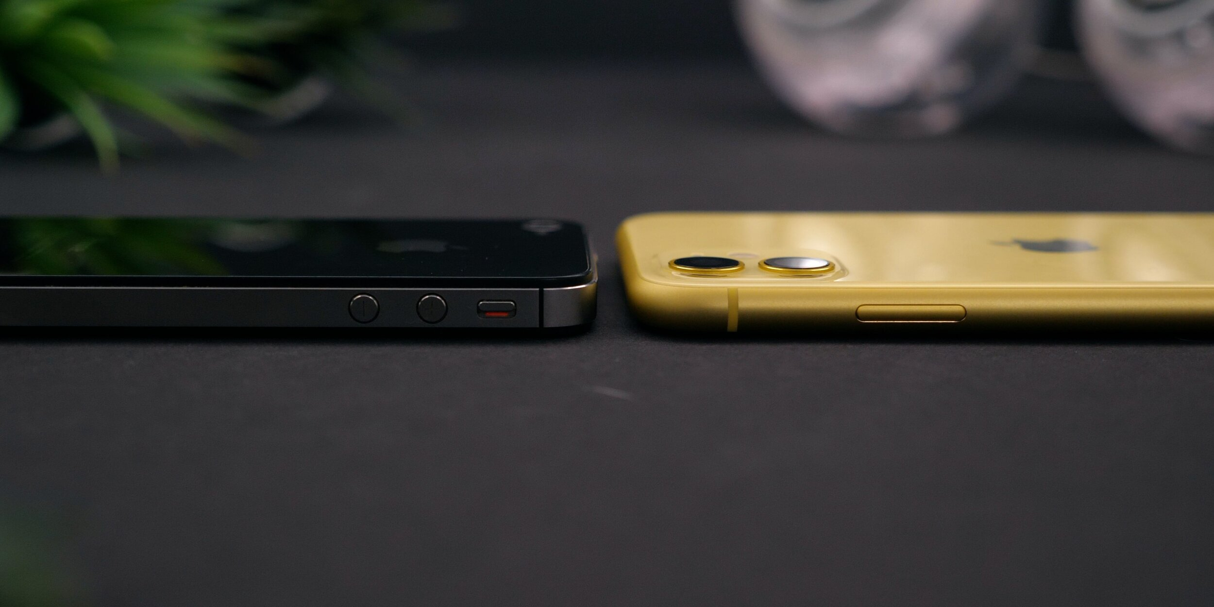 Measuring 8.3mm in thickness, this is the thickest iPhone since the 4S (Left)