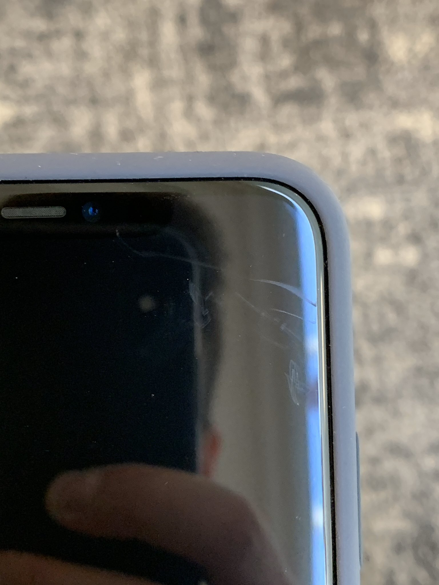 Despite being the strongest glass on an iPhone, they are still susceptible to scratches