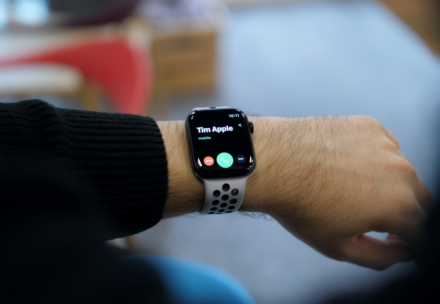 The ability to make calls on the Apple Watch means that it almost negates the need for a phone