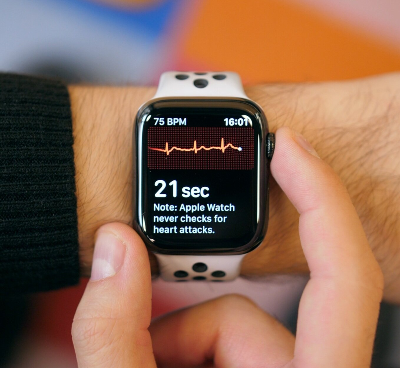 The 2nd gen Heart Rate monitor measures your heart rate constantly, but you can check it manually.