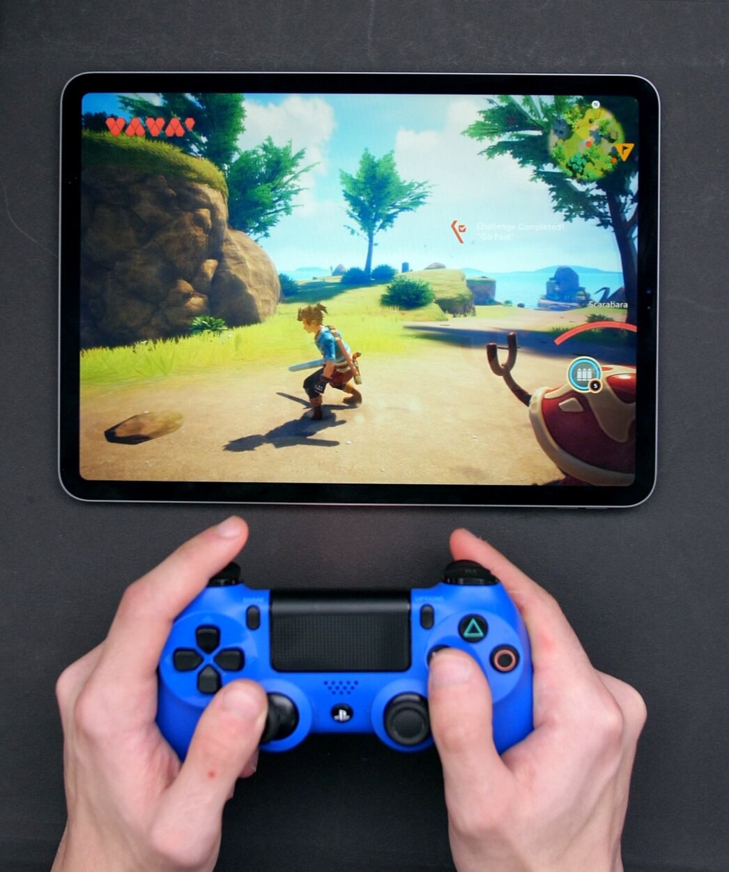 """Like with the Pro, the 10.2"""" will allow you to connect a games console controller to play games on it"""