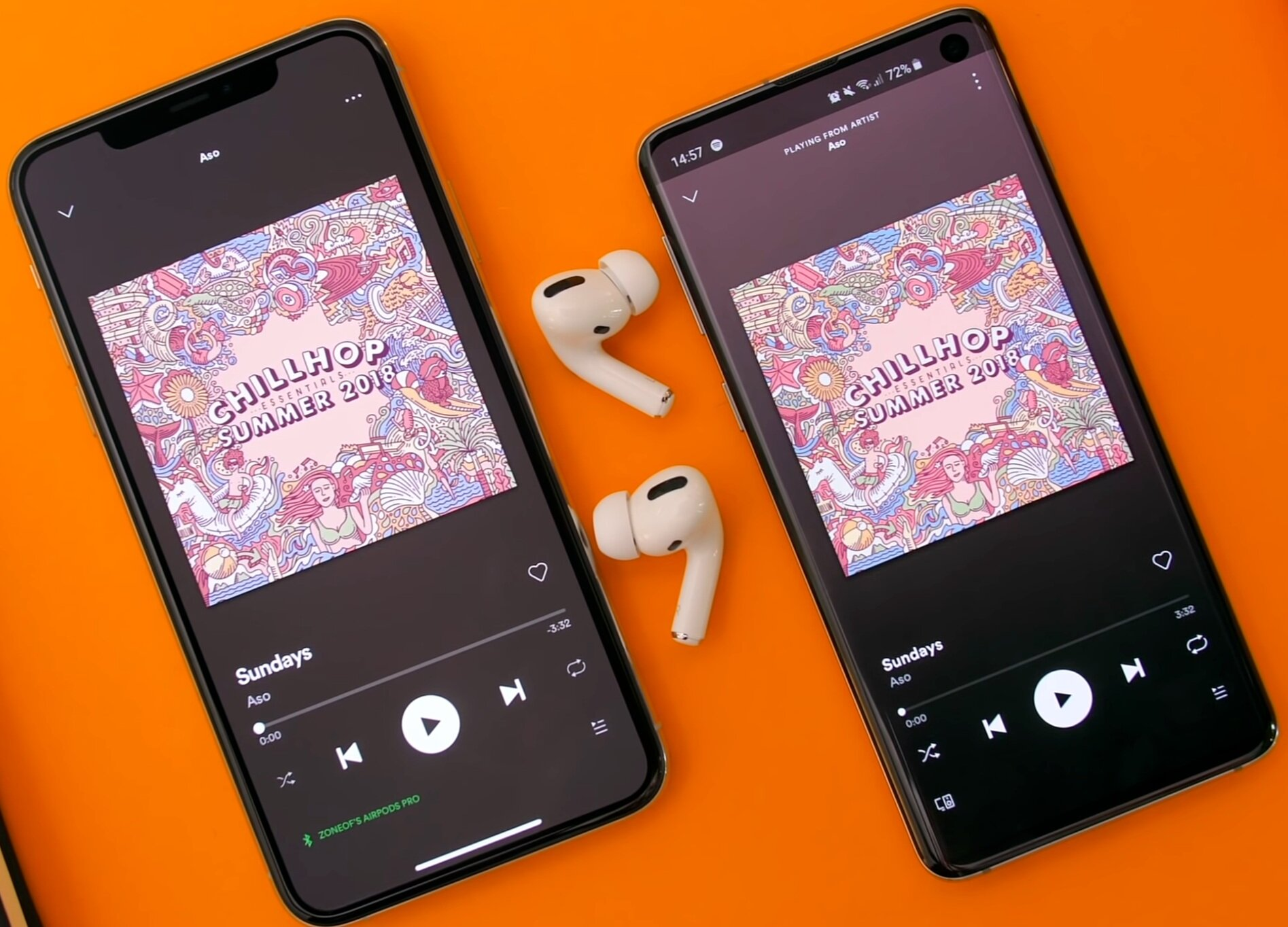 There is no real point in getting the AirPods Pro if you have an Android device as the sound quality is much poorer