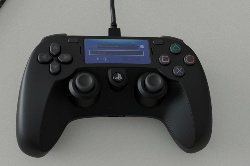 The leaked PS5 controller (Source: Ray Sekiro)