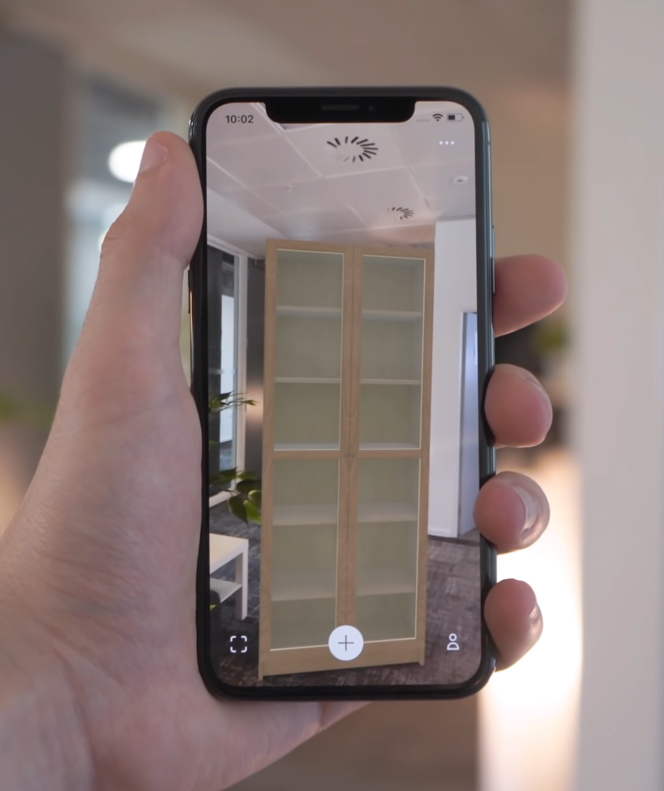 IKEA's Place app allows you to see how different items of furniture would fit within your home thanks to AR