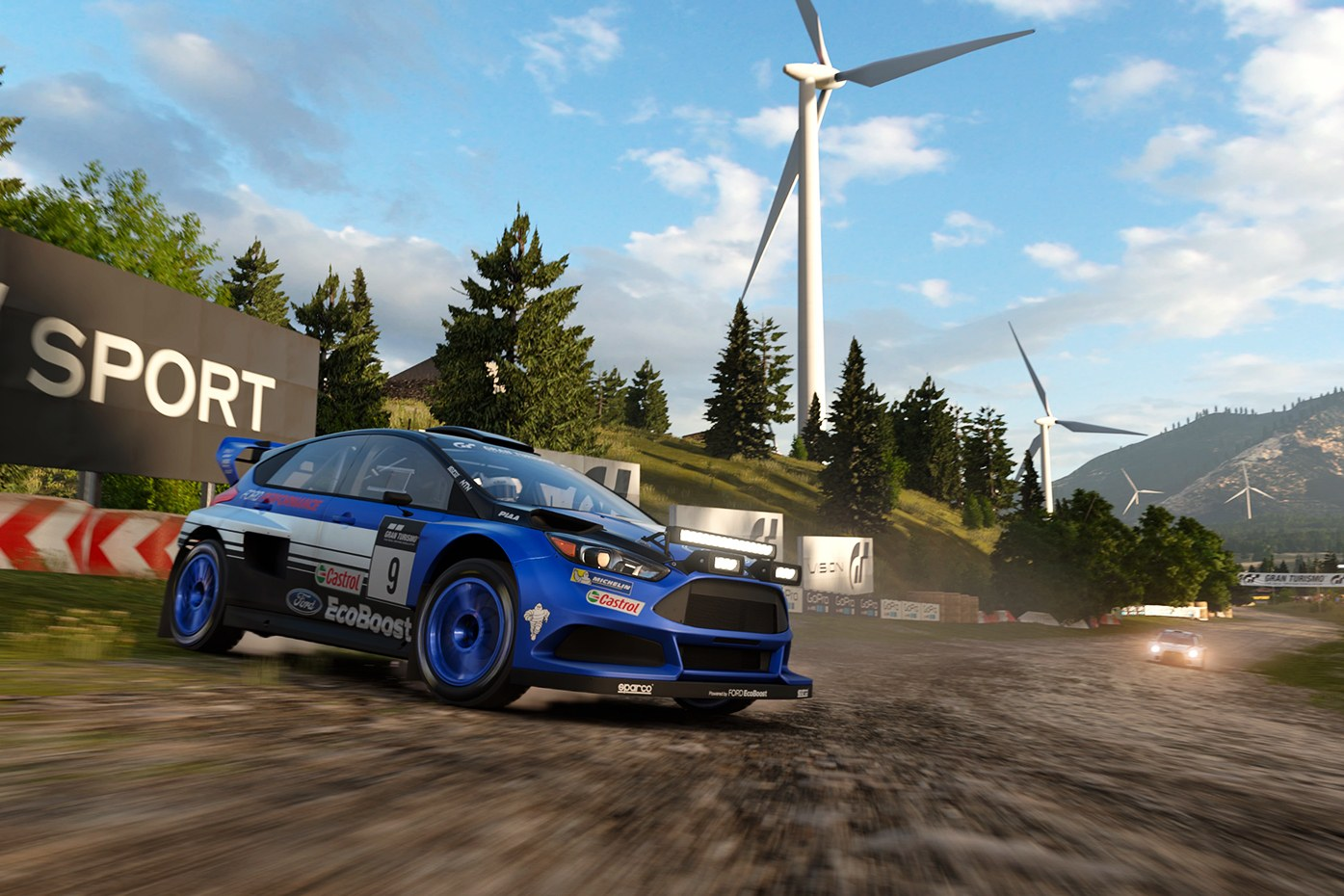 The new haptic engine will give the user real time feedback depending on the environment they are in, like driving on dirt in Gran Turismo Sport (Source: Sony)