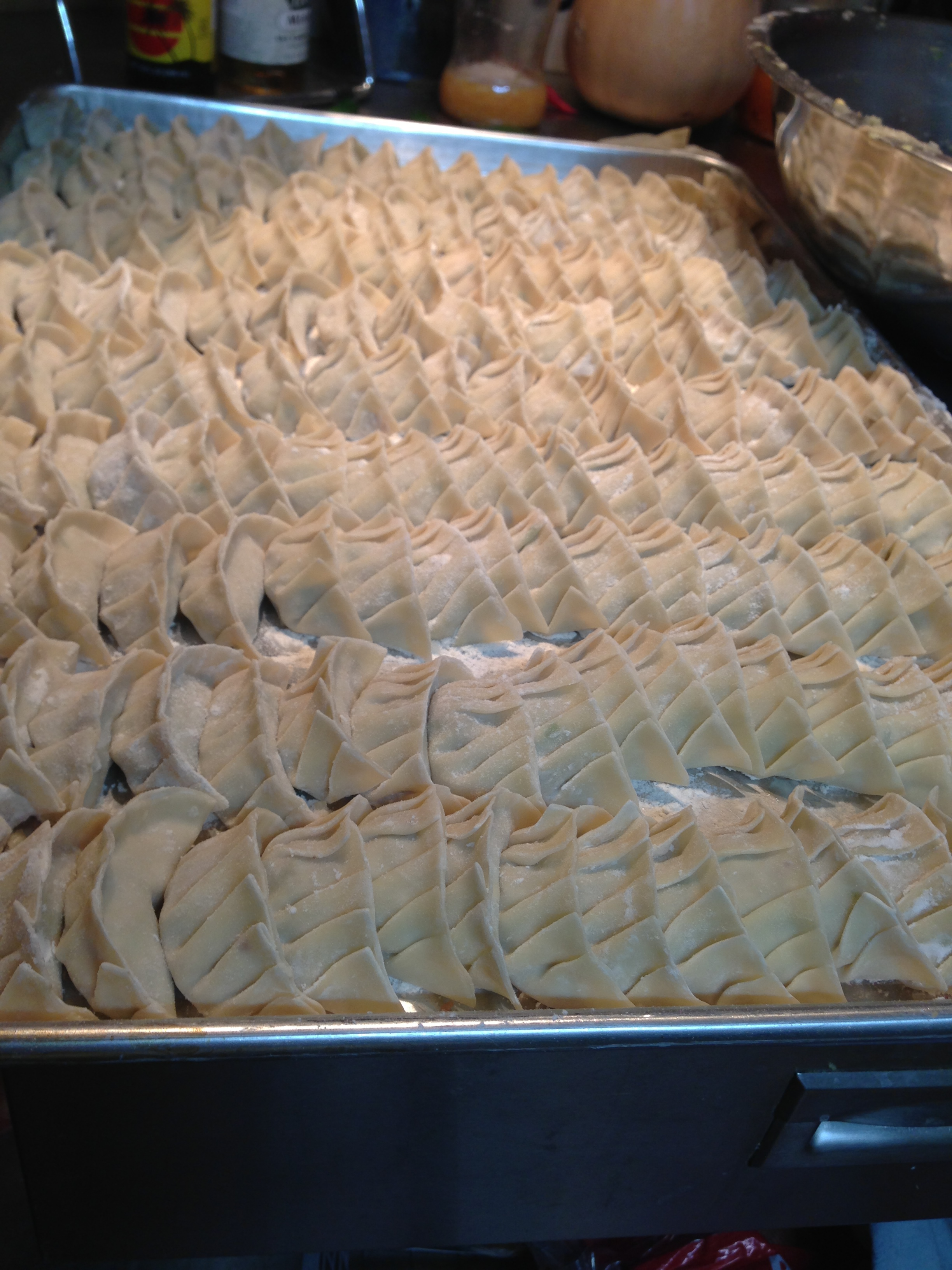 Remember the dumplings we made together?