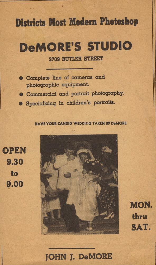 Ahead of the curve - Pap & Gram were on the cutting edge and candid wedding photos were a brand new idea back then.