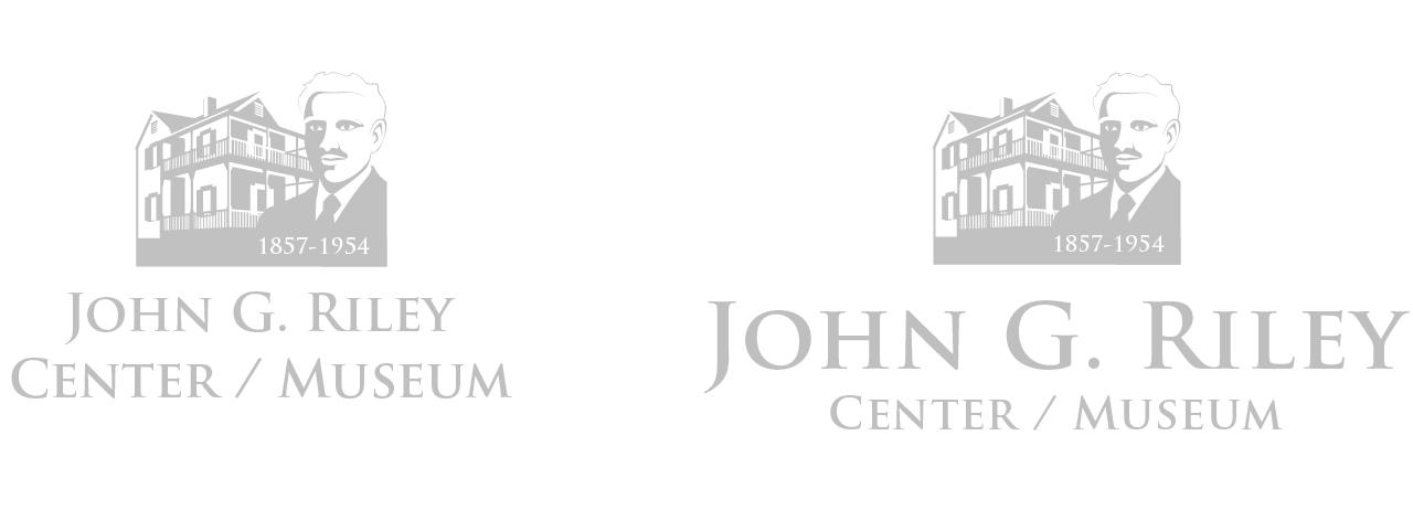 John G. Riley Center / Museum Alternate Logomarks