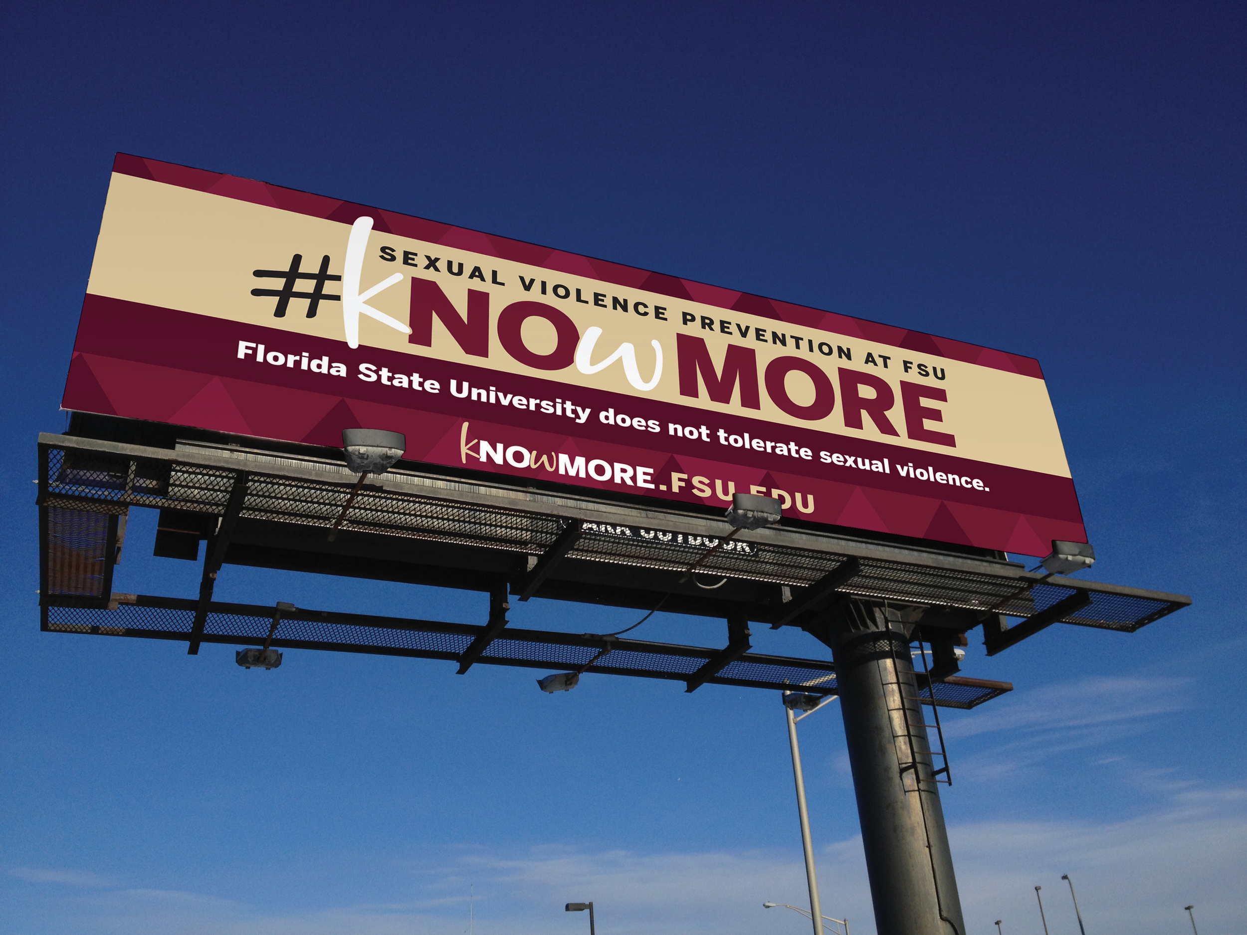 FSU Sexual Violence Prevention Billboard