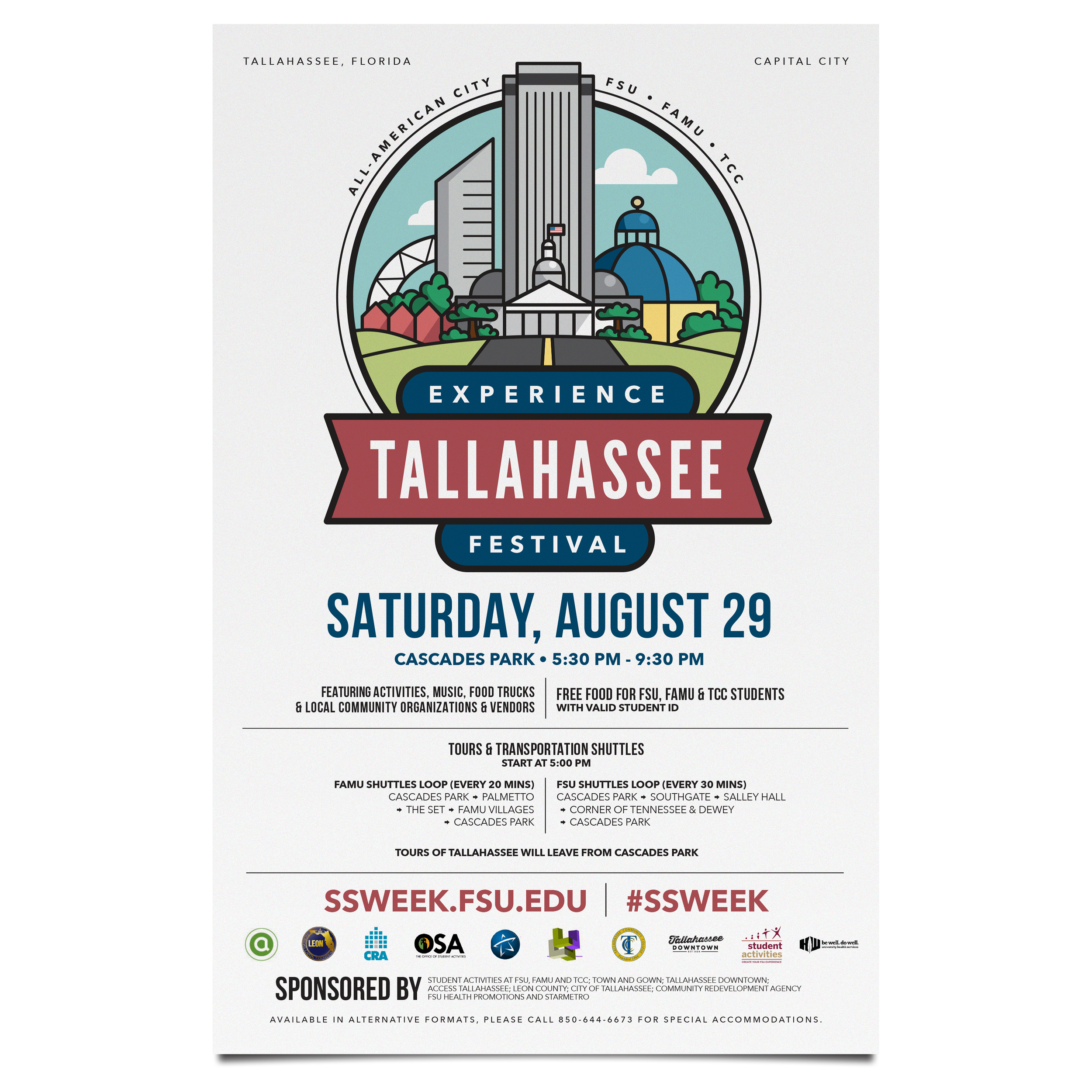 Experience Tallahassee Festival - Poster