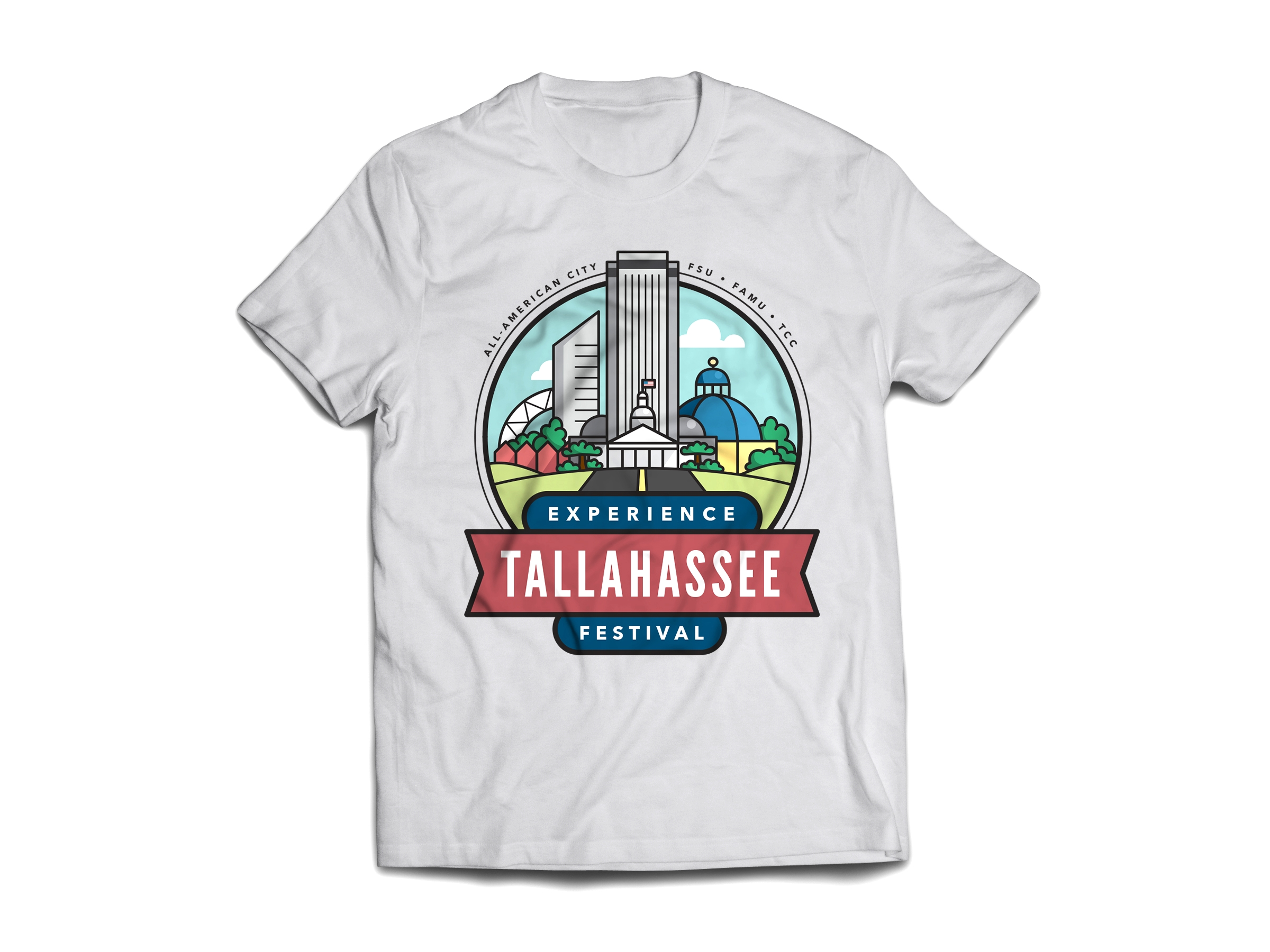 Experience Tallahassee - T-shirt
