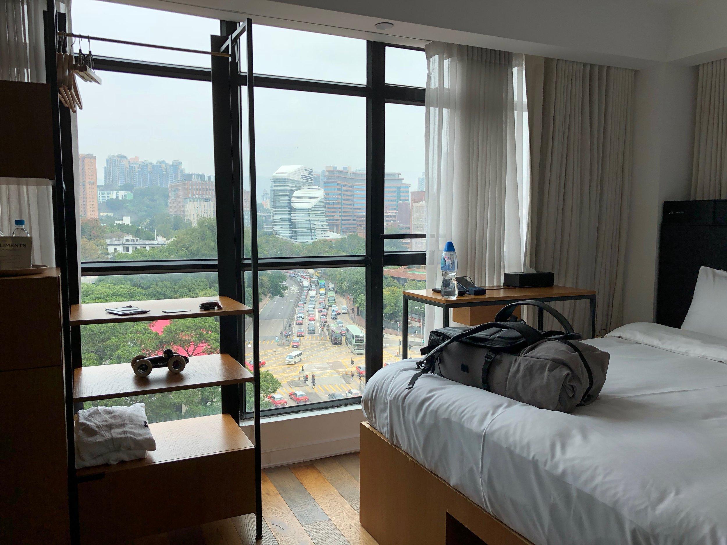 Zimmer mit Aussicht - Hotel in Kowloon zwischen den Haltestellen Hung Hom, Jordan und Tsim Sha Tsui East