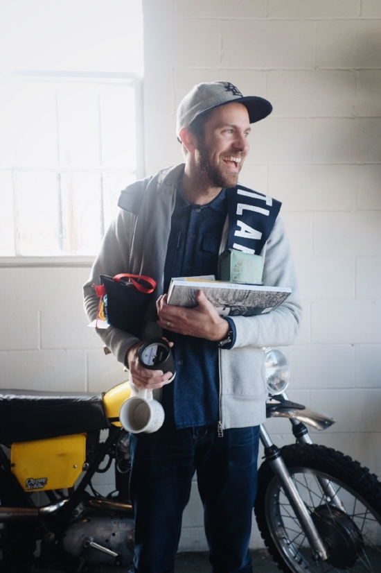 Kyle Taylor   Q: What are you drinking today?  A: Stumptown's Ethiopia Mordecofe on drip.  Q: Are you excited for the holidays? Any big plans?  A: Yes, super excited to spend some quality time with Kelly and Owen. No big plans, just going to try and get as much time in with family as I can.  Q: What's your favorite item that we are stocking at Chrome right now?  A: Between Kelly and I we do all the buying, so I honestly just love it all.  Q: Any big items on your wish list?  A: I'd love it if someone would buy me a La Marzocco Mini for the house, haha. But, I'd settle for a Fellow Stagg EKG Kettle.