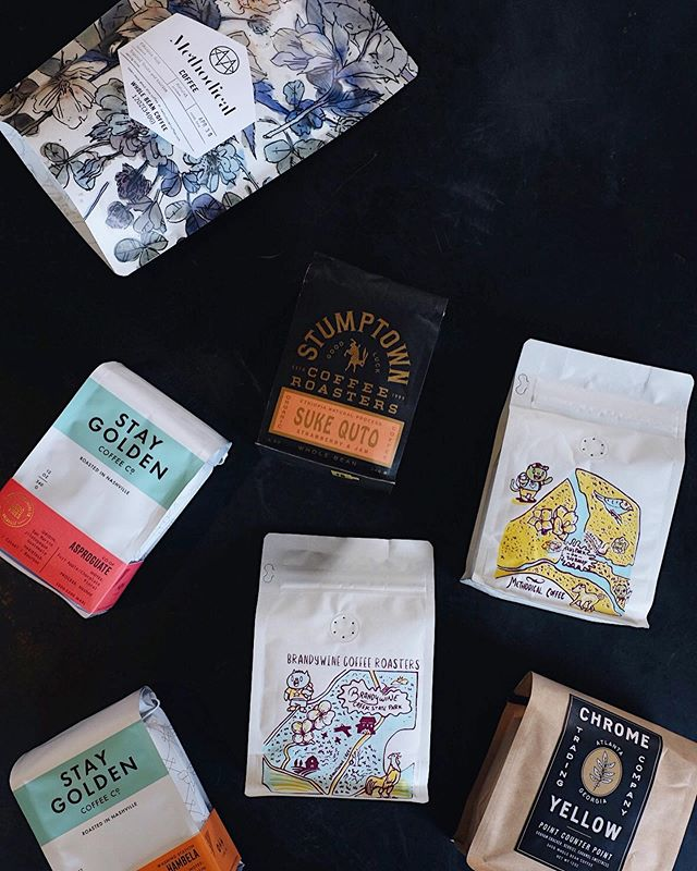 Need coffee for Mom (or yourself) this weekend? If so we got you. Tons of new coffees in stock and this @brandywinecoffeeroasters + @methodicalcoffee collaboration is pretty perfect.